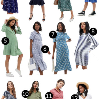 Cute + Affordable Maternity Dresses