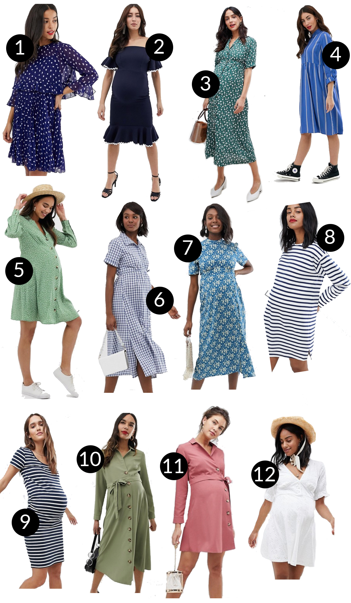 40d5d38a5a1 Cute + Affordable Maternity Dresses - Kelly in the City