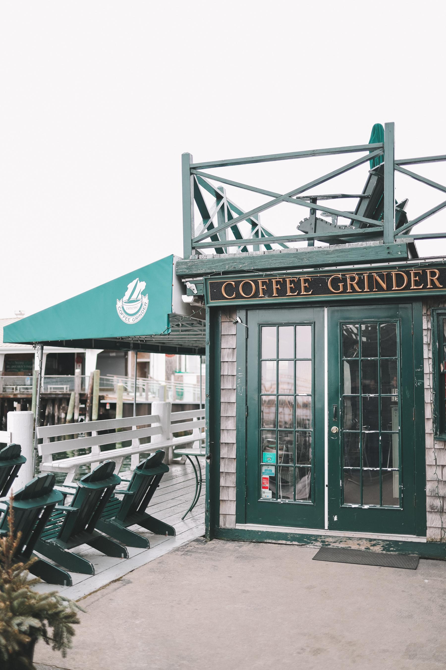 Day 1 in Newport, Rhode Island - Coffee Grinder