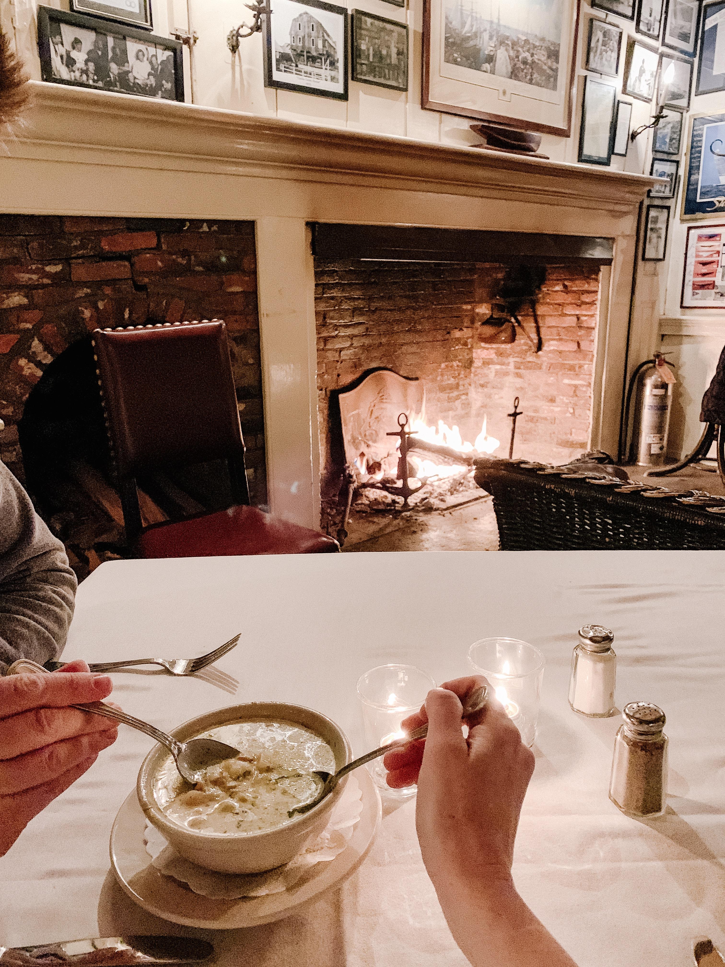 Day 1 in Newport, Rhode Island - Clam chowder