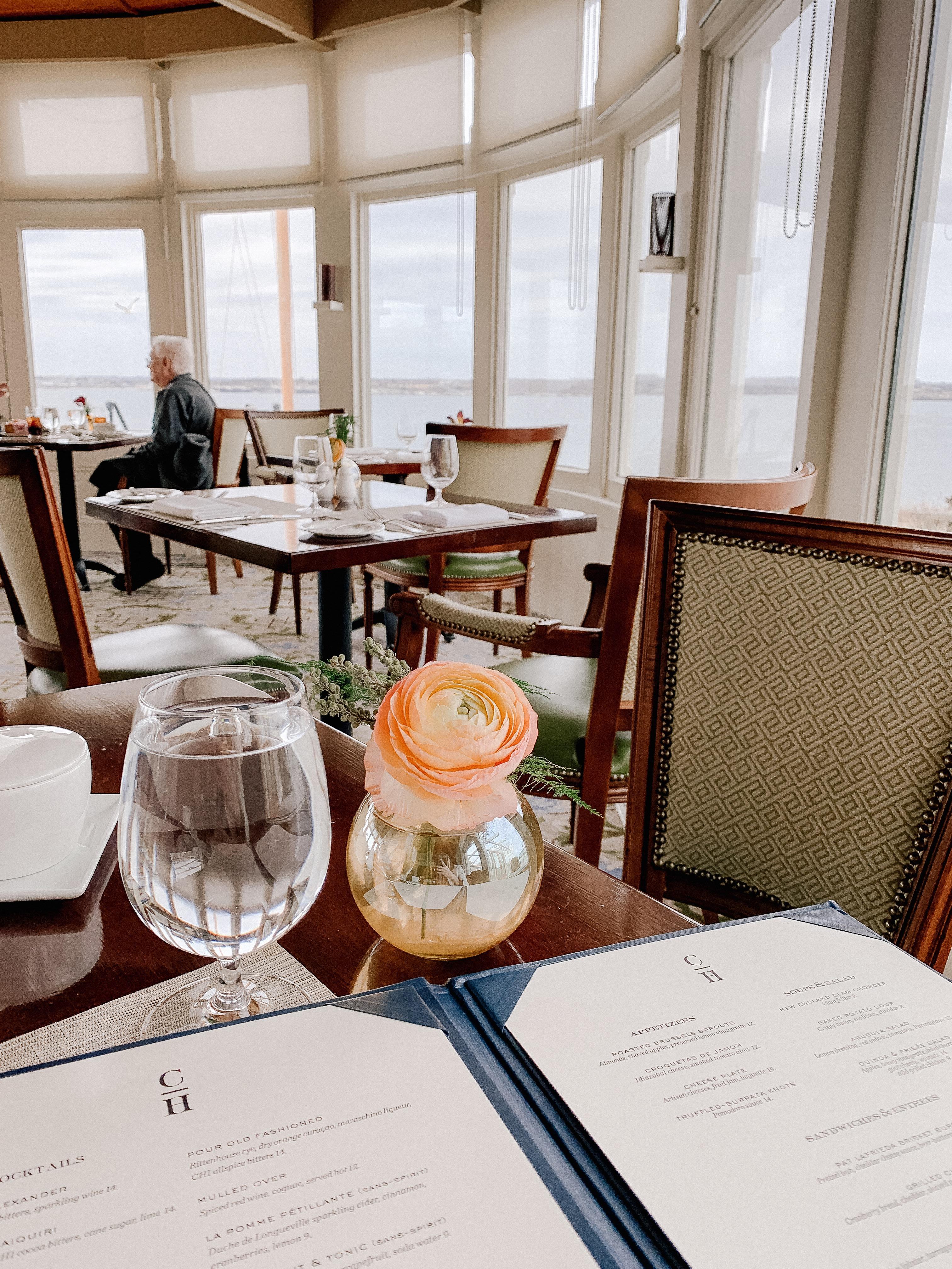 Newport, Rhode Island - Lunch at Castle Hill Inn