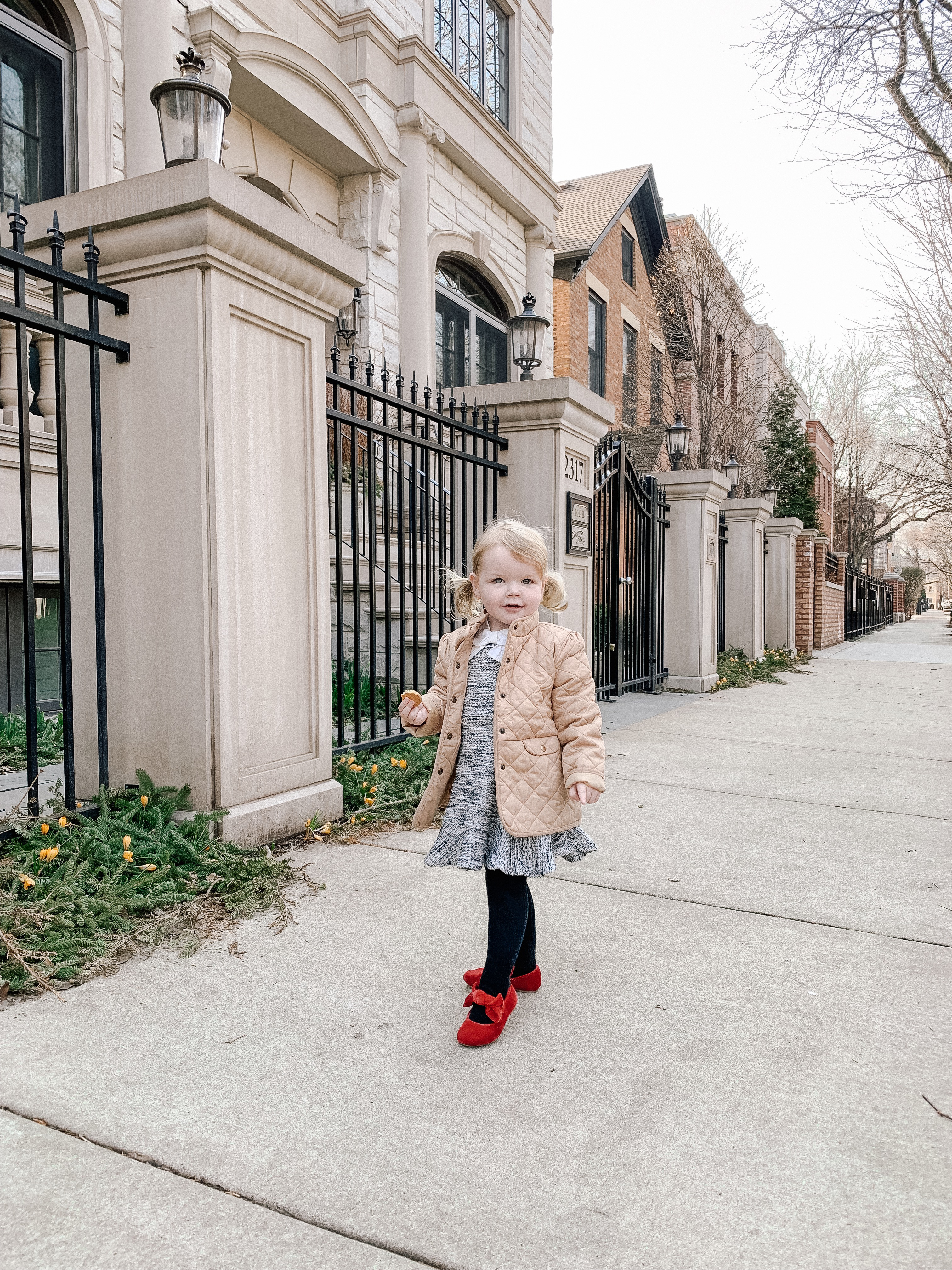Preppy Toddler Outfit