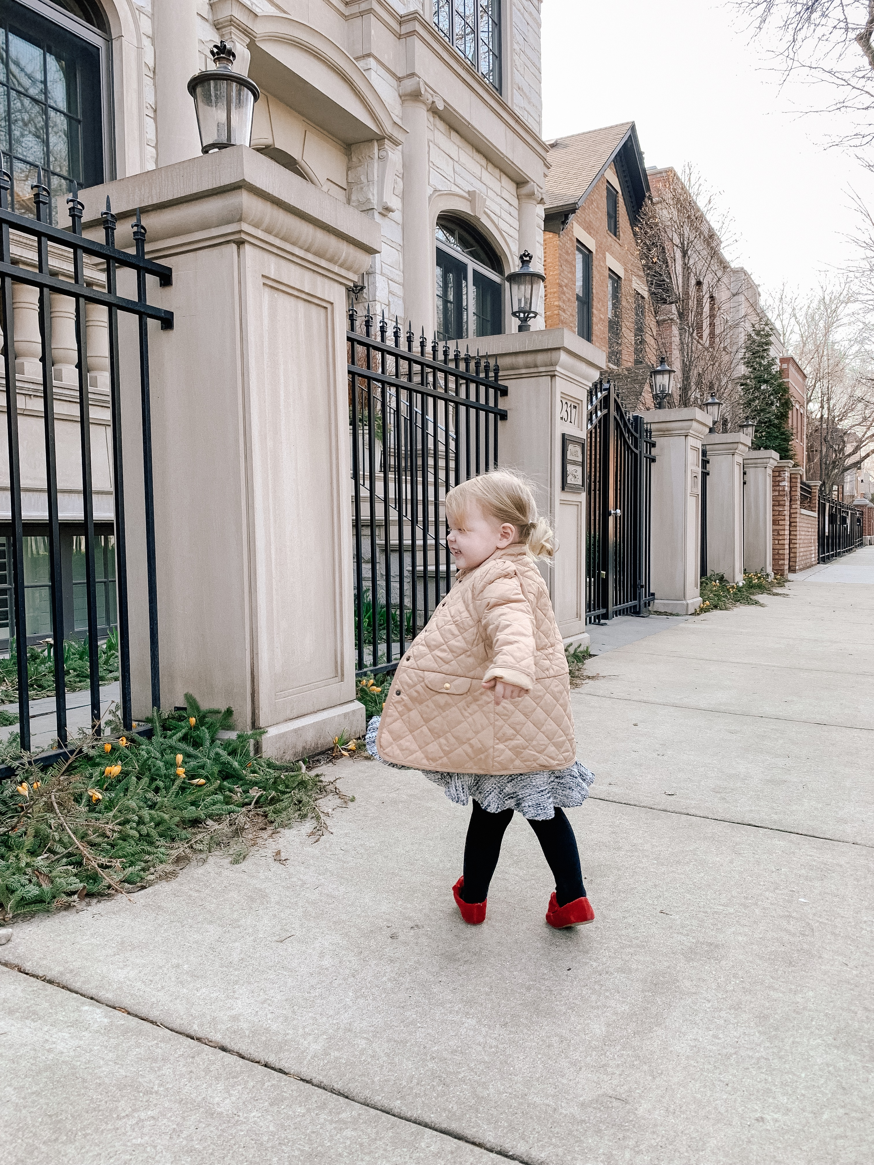 Emma Larkin is featuring a Preppy Toddler Outfit