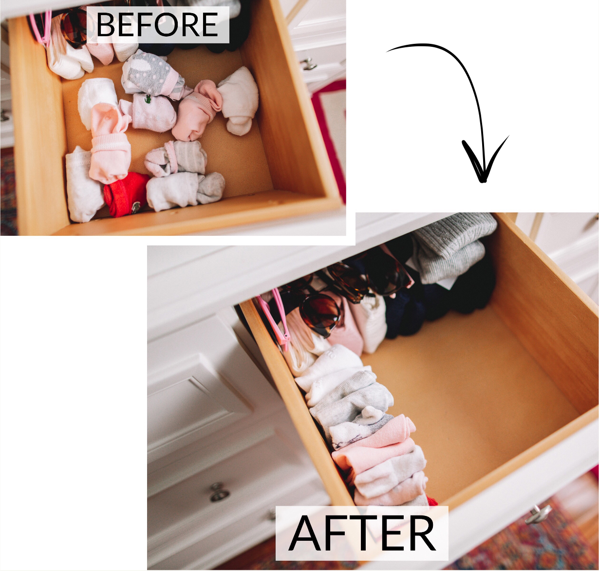 How to KonMari Kids' Room - Before and After