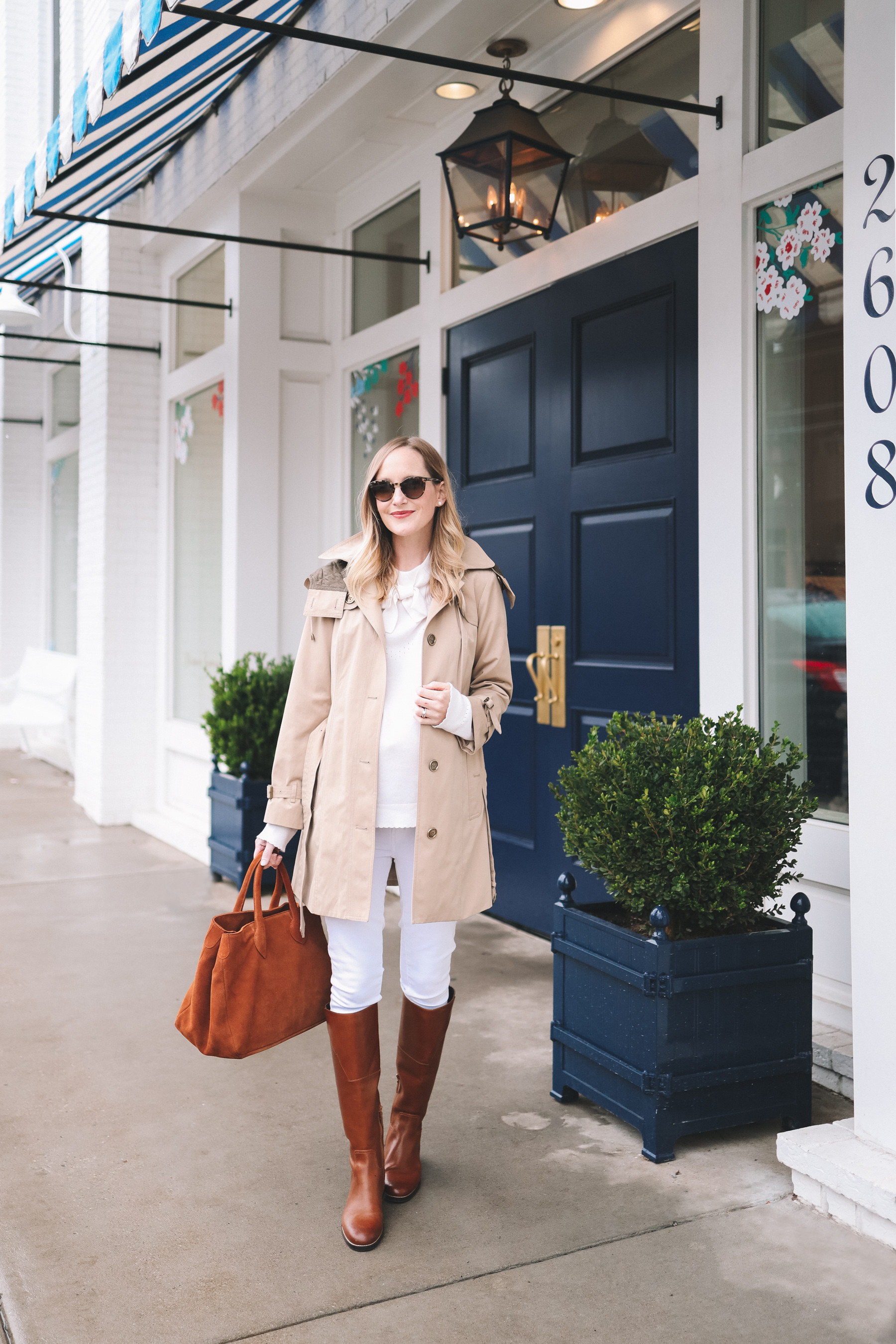 The Warmest Trench Coat