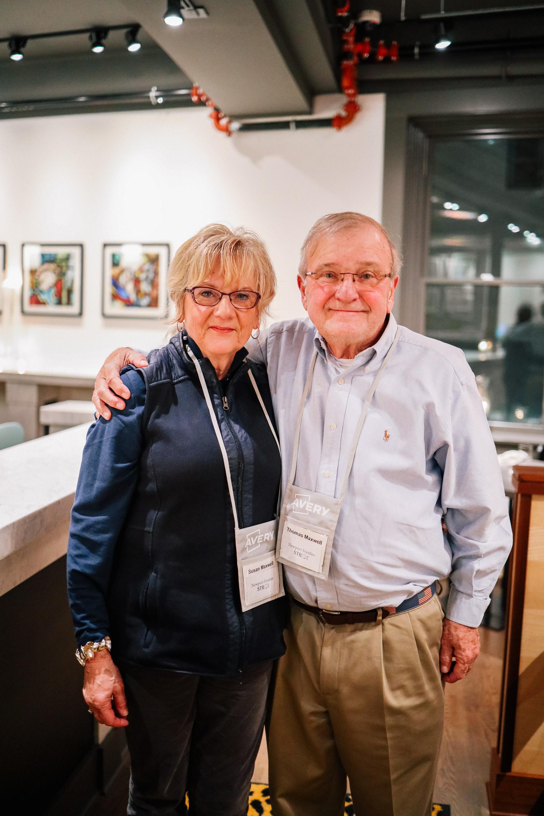 Susan and Thomas Maxwell