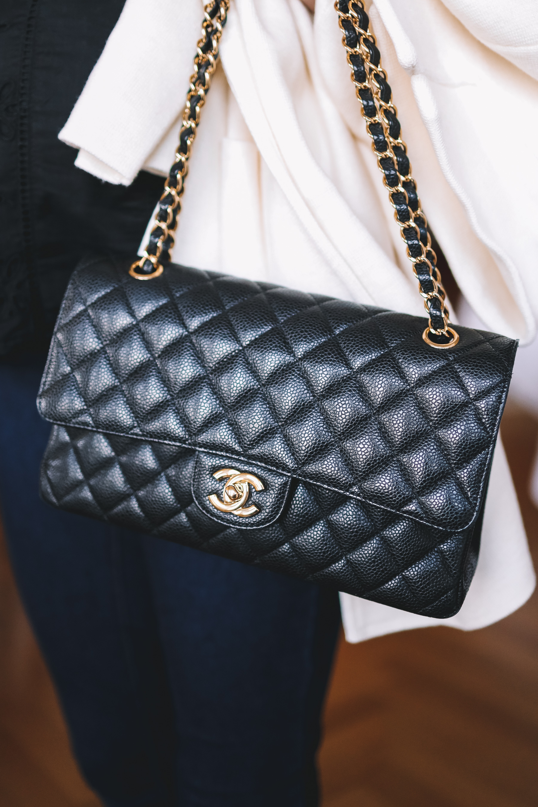 Chanel Double Flap Medium Bag