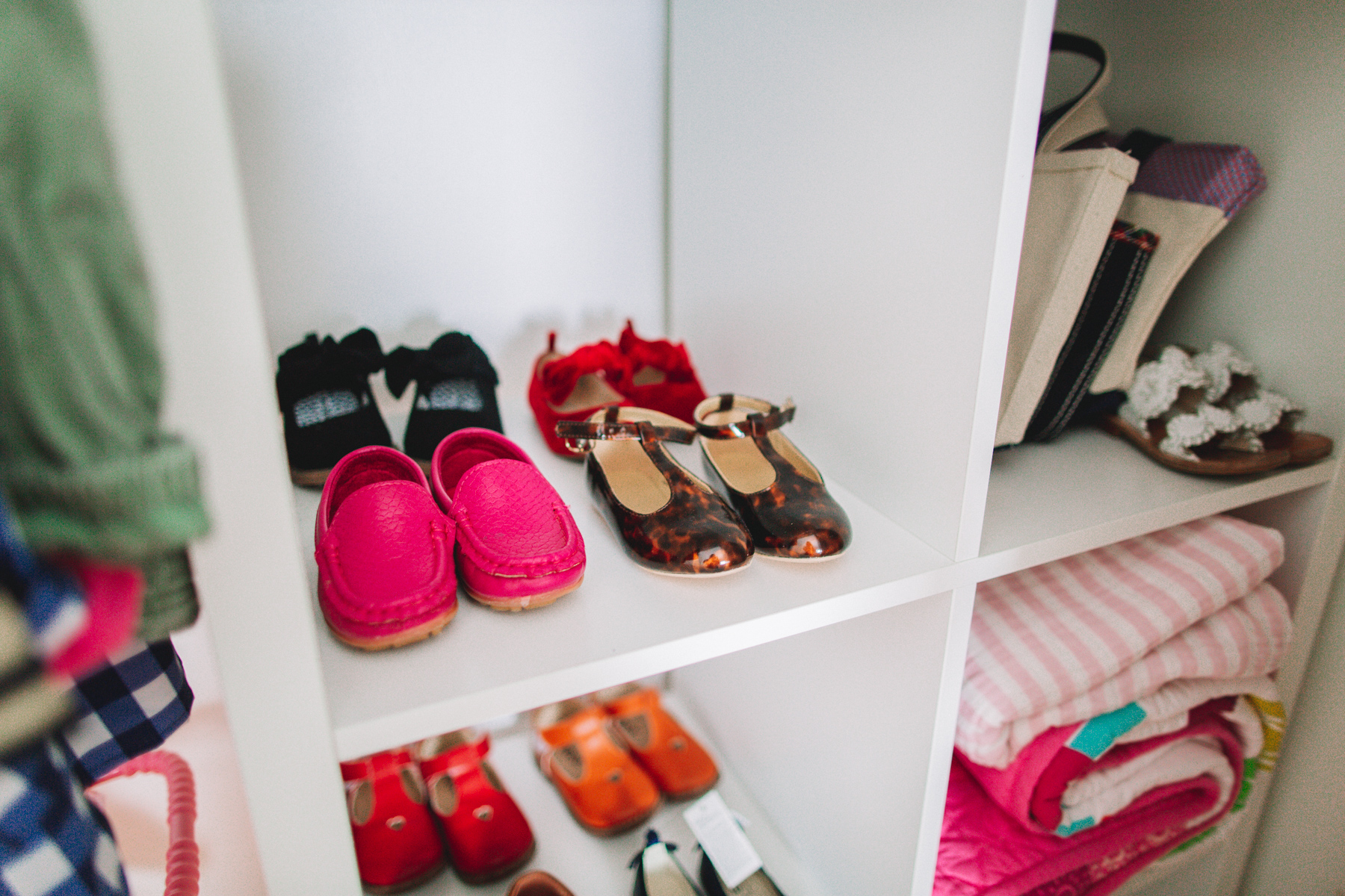 KonMari kids' rooms - shoes