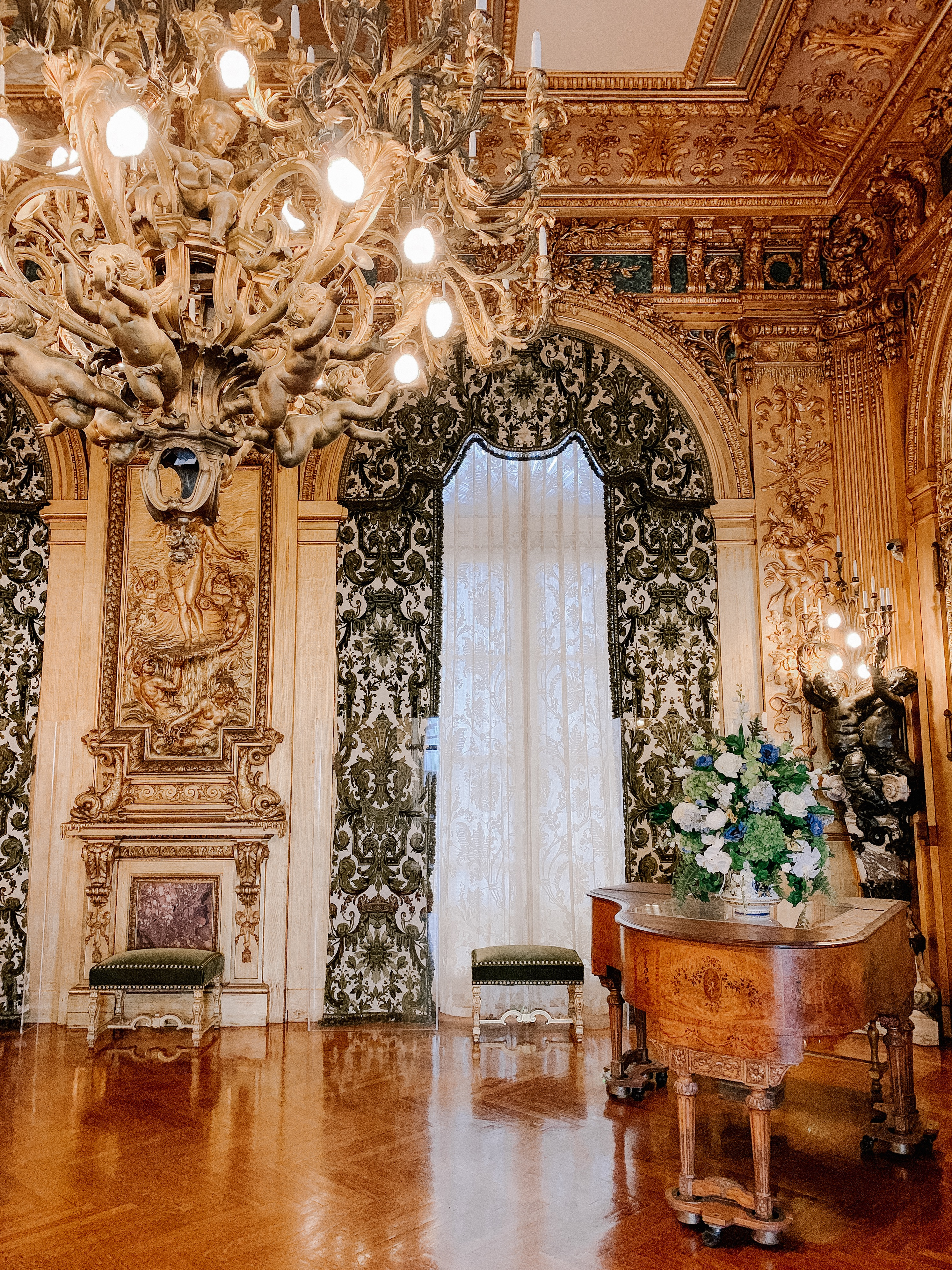 Mansion tour: Marble House - Day 2 in Newport, Rhode Island