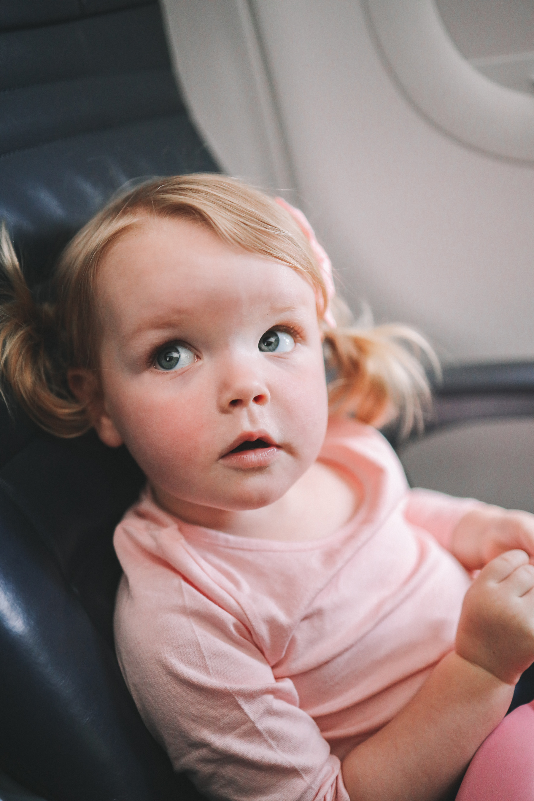 Emma Larkin & tips for flying with toddlers