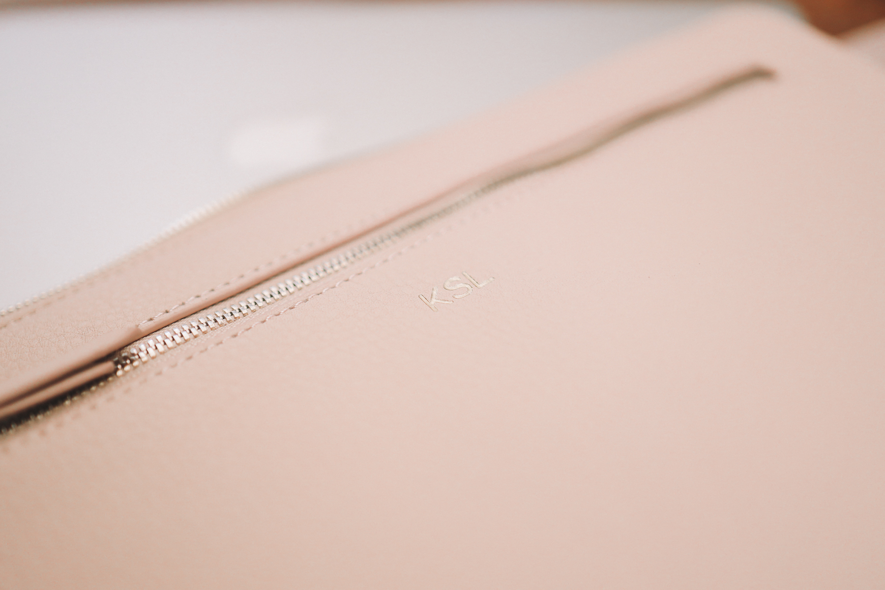 "Mark & Graham Laptop Case in ""Blush"""
