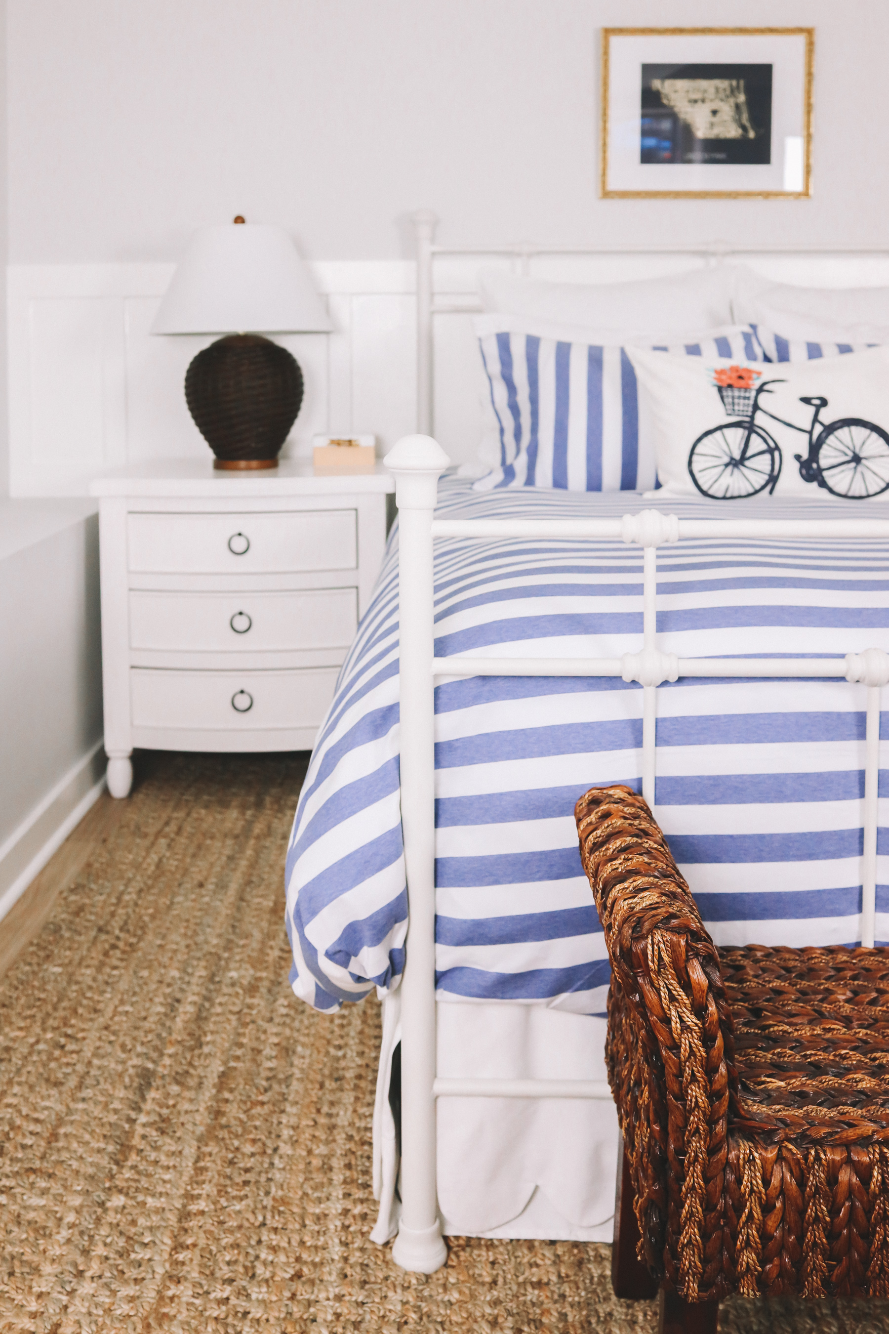Company Store Awning Stripe Duvet Cover and Shams
