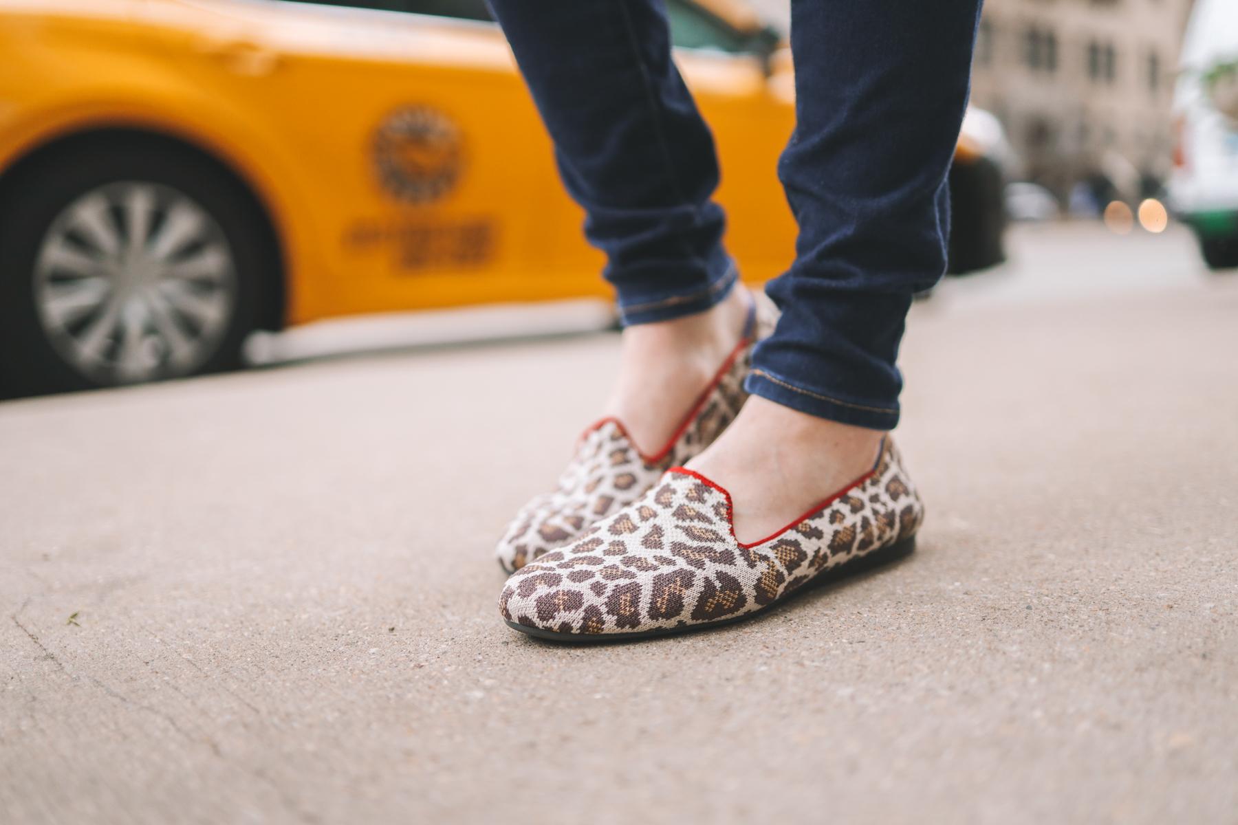 "Rothy's ""Mocha Spot"" Loafers"