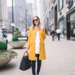 Statement Coats for Spring on the blog