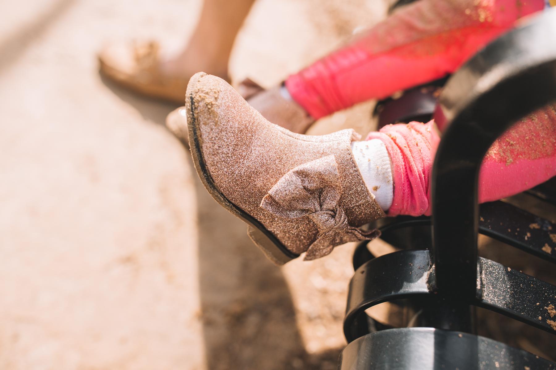 Sparkle kids boots