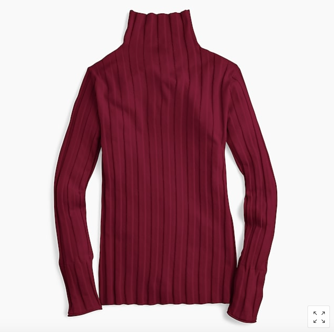 Tuckable Ribbed Turtleneck