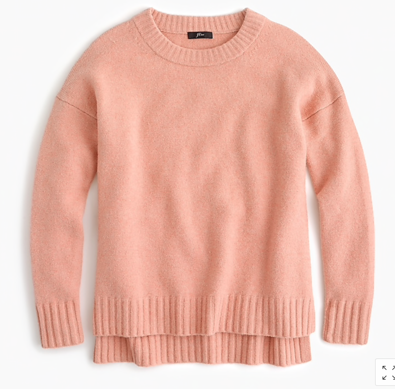 Supersoft Yarn Crewneck Sweater