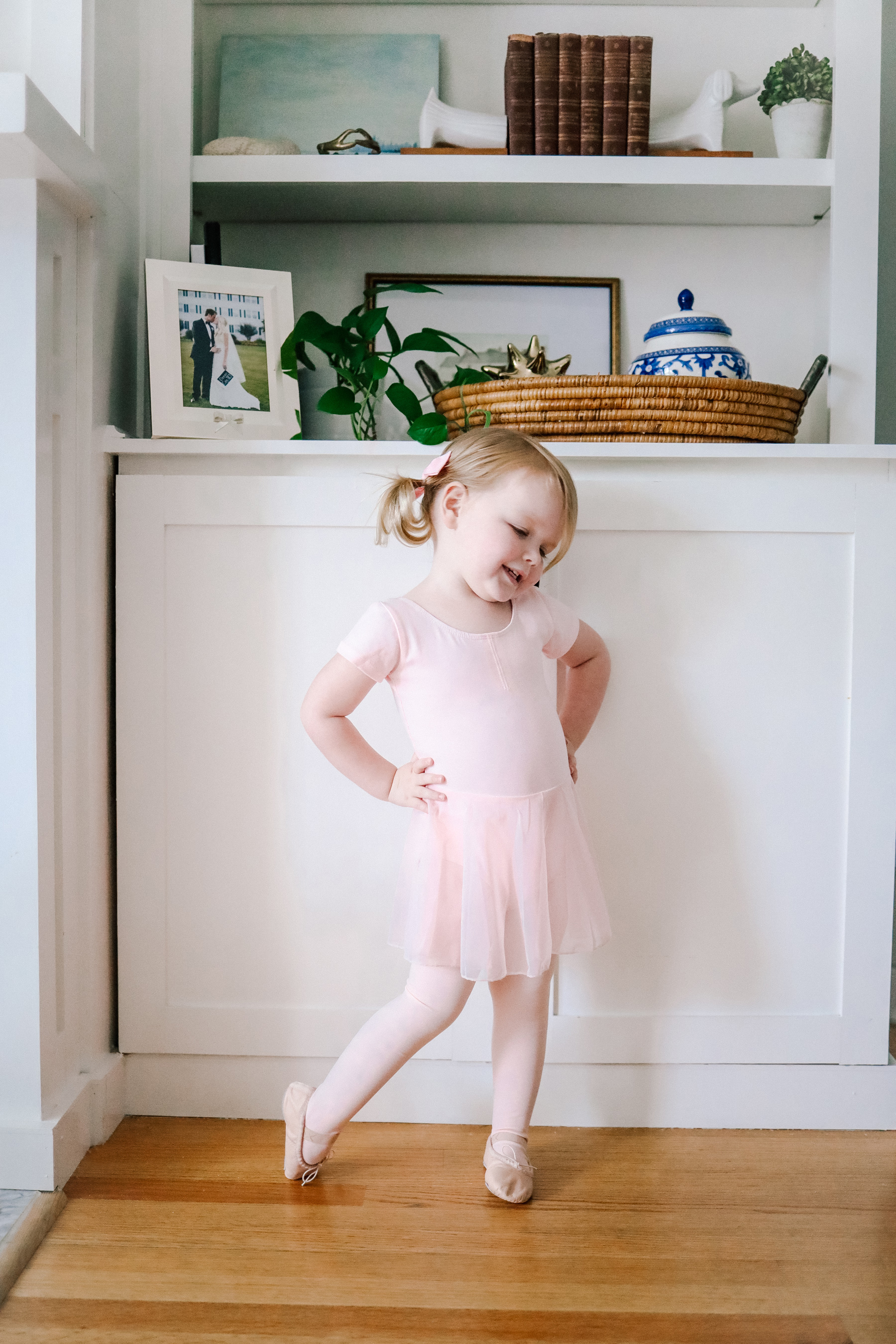 Emma is featuring a Toddler Ballerina Outfit | Kelly in the City