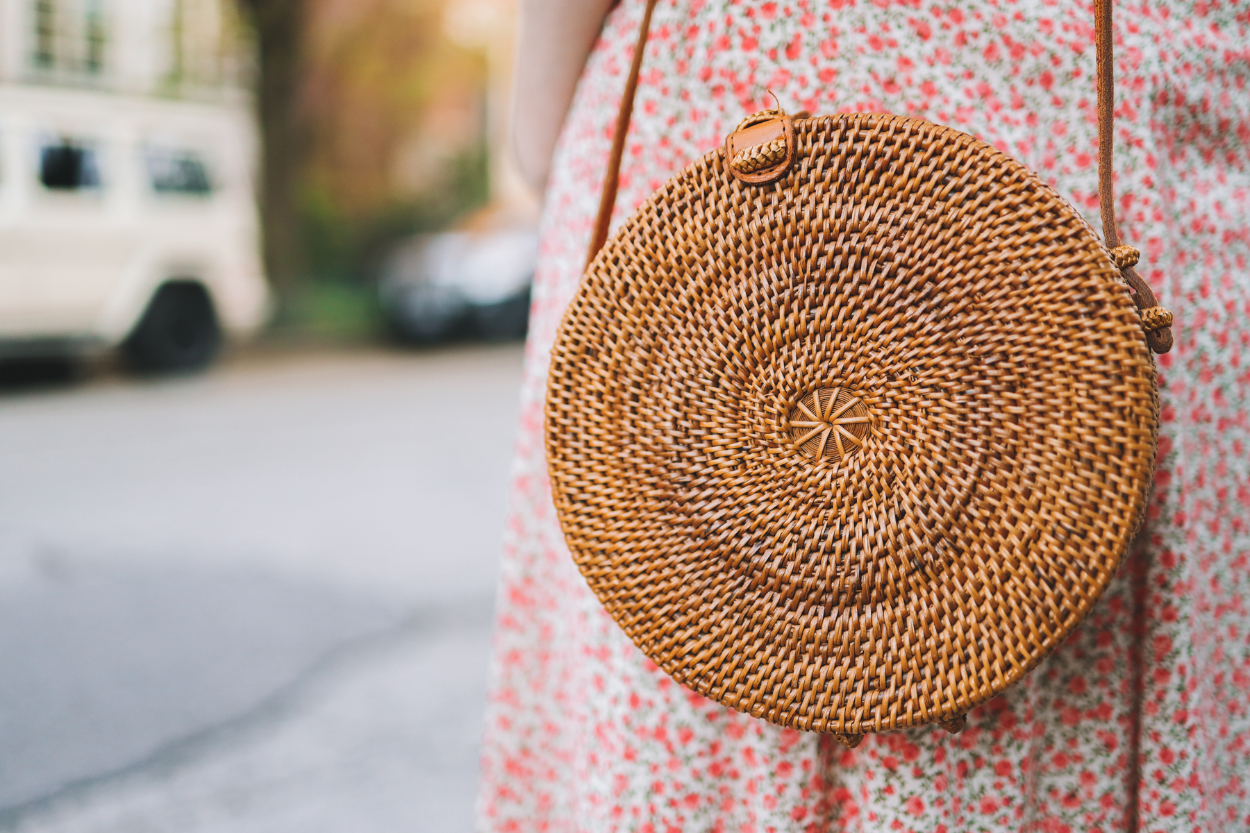 Woven Round Bag