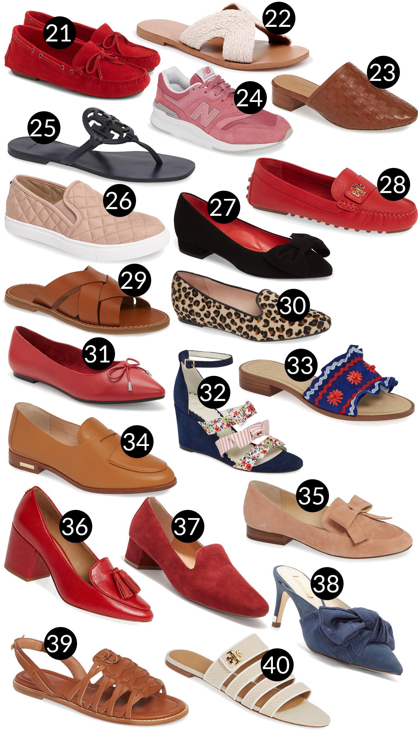 Memorial Day Weekend Preppy Sales -Nordstrom Shoes (Half-Yearly Sale)