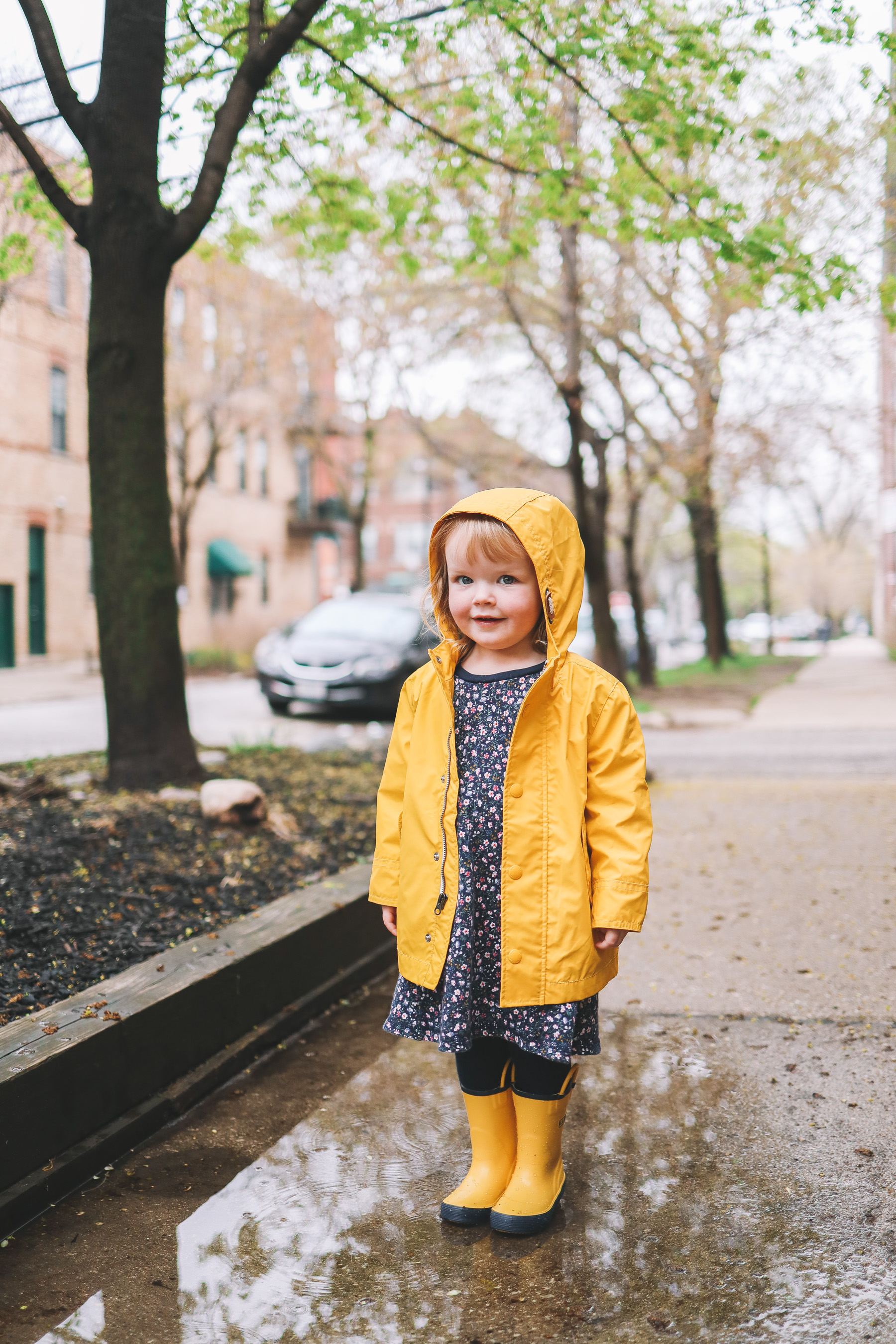 Toddler Preppy Rainy Day Outfit