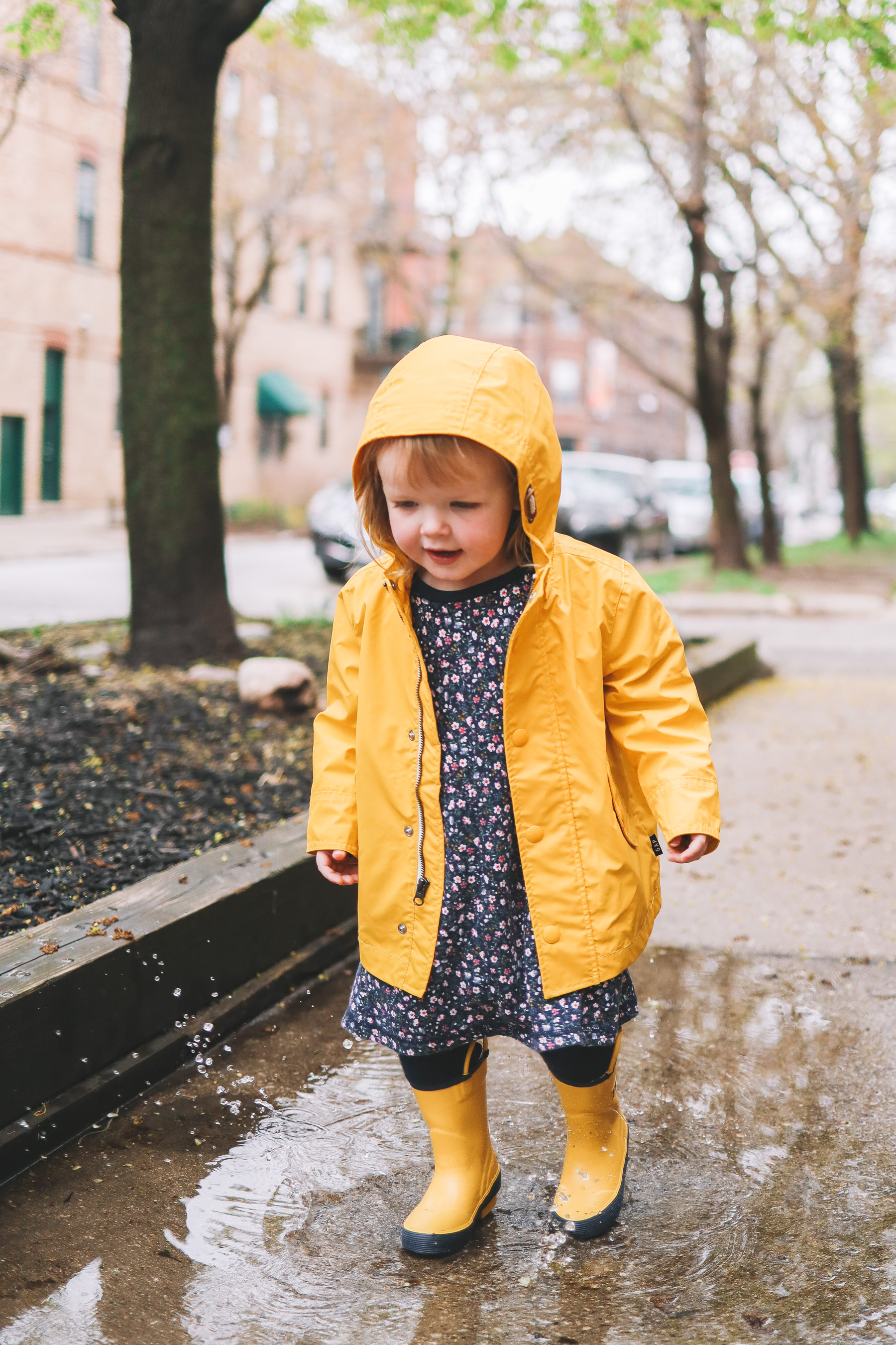 Toddler Rainy Day Outfit