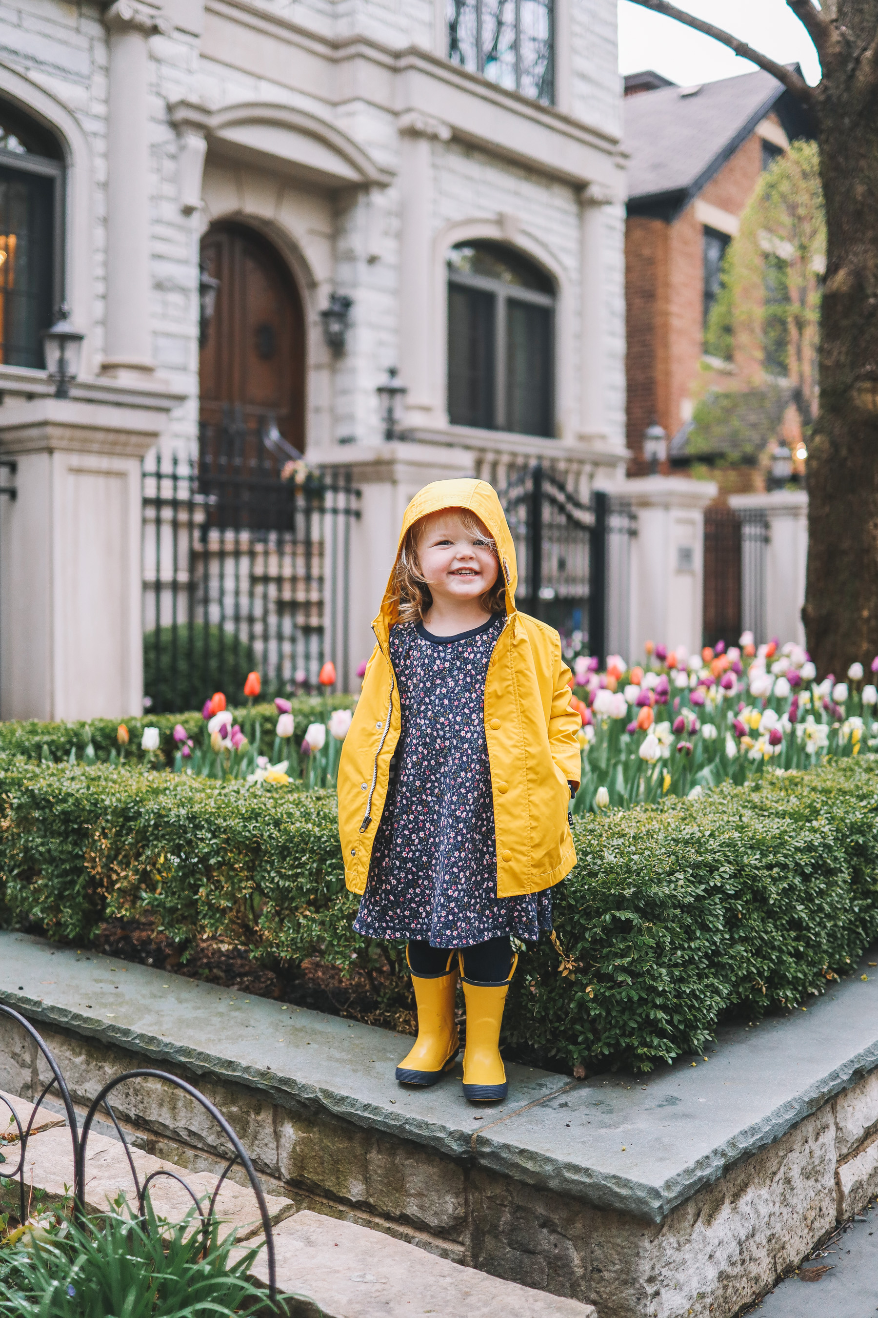 April Showers on the blog