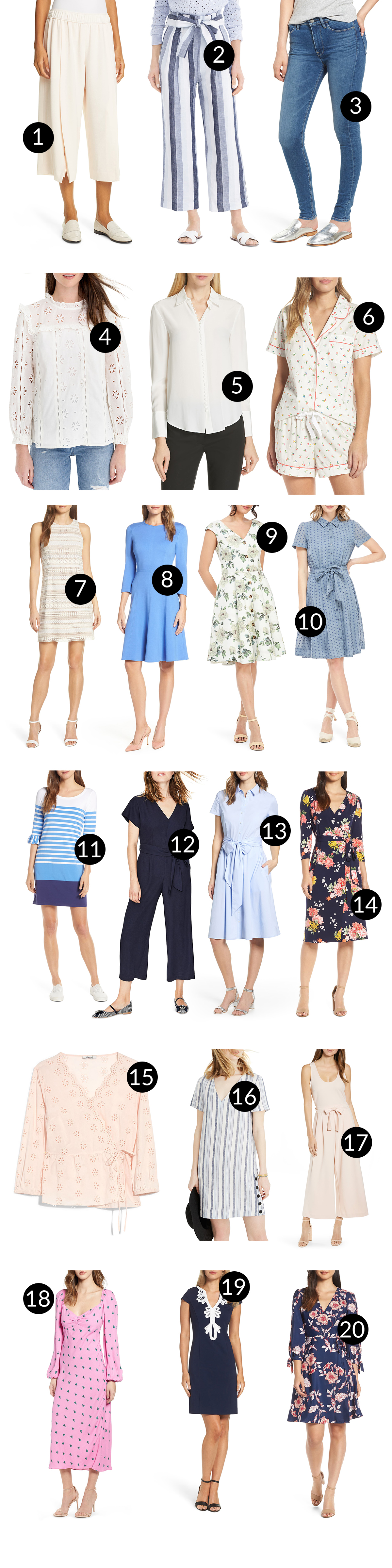 Nordstrom Clothing (Half-Yearly Sale)