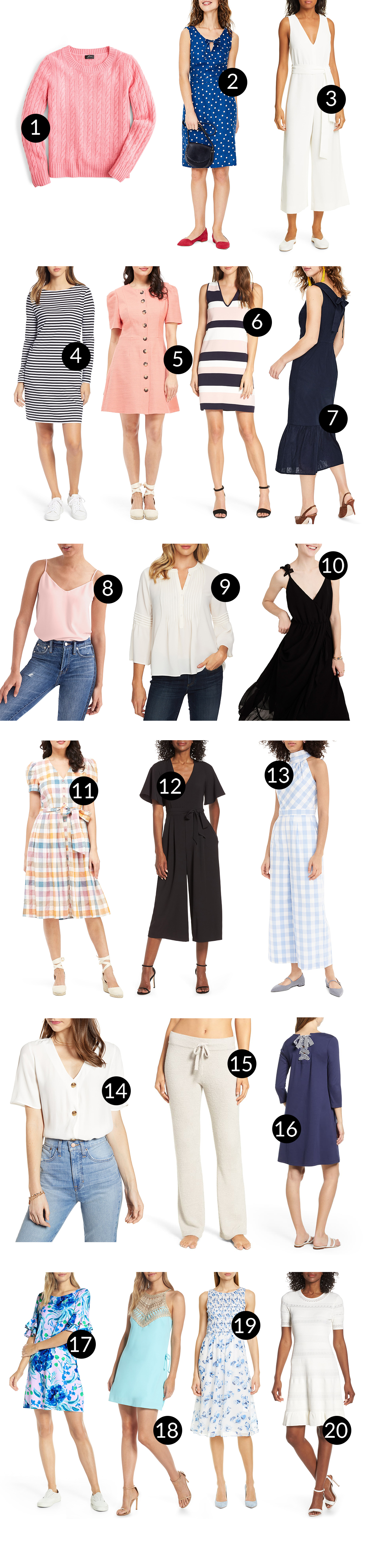Fav pieces from Nordstrom Clothing (Half-Yearly Sale)