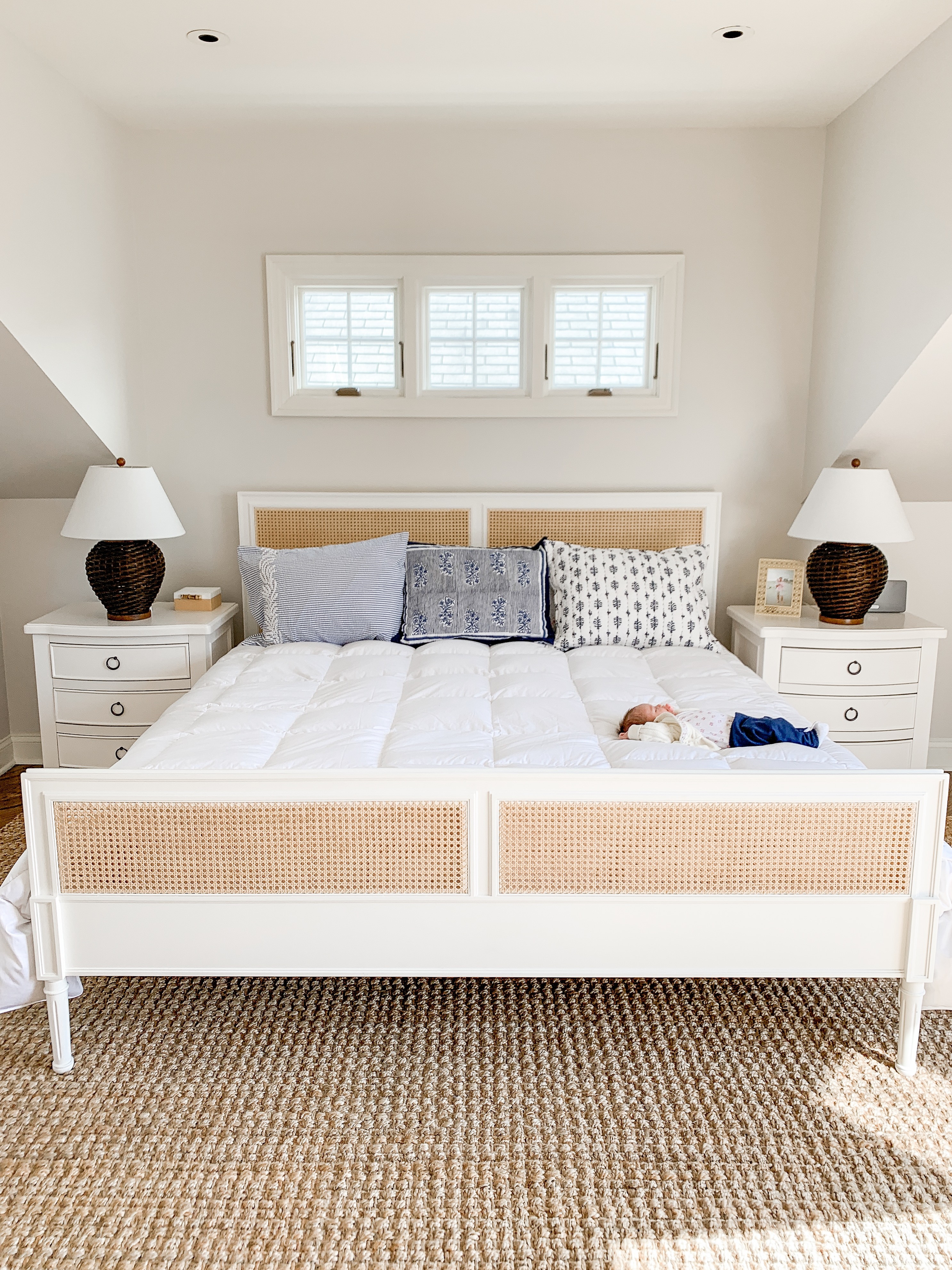Master Bedroom with Serena & Lily | Kelly in the City