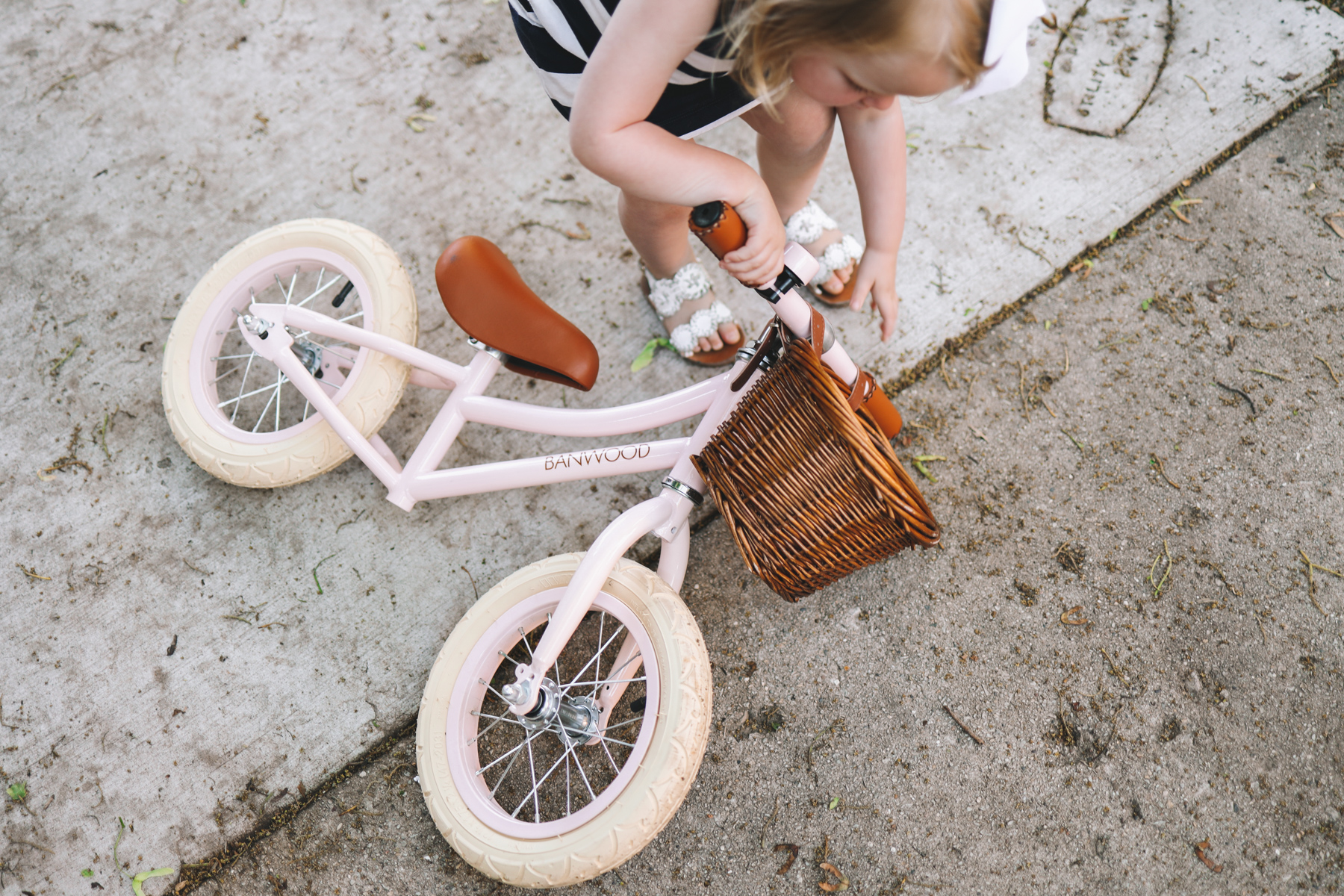 Banwood Balance Bike in Pink by Kelly Larkin