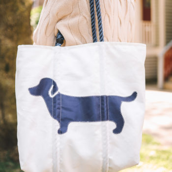 Sea Bags x Kelly in the City Dachshund Tote Bag
