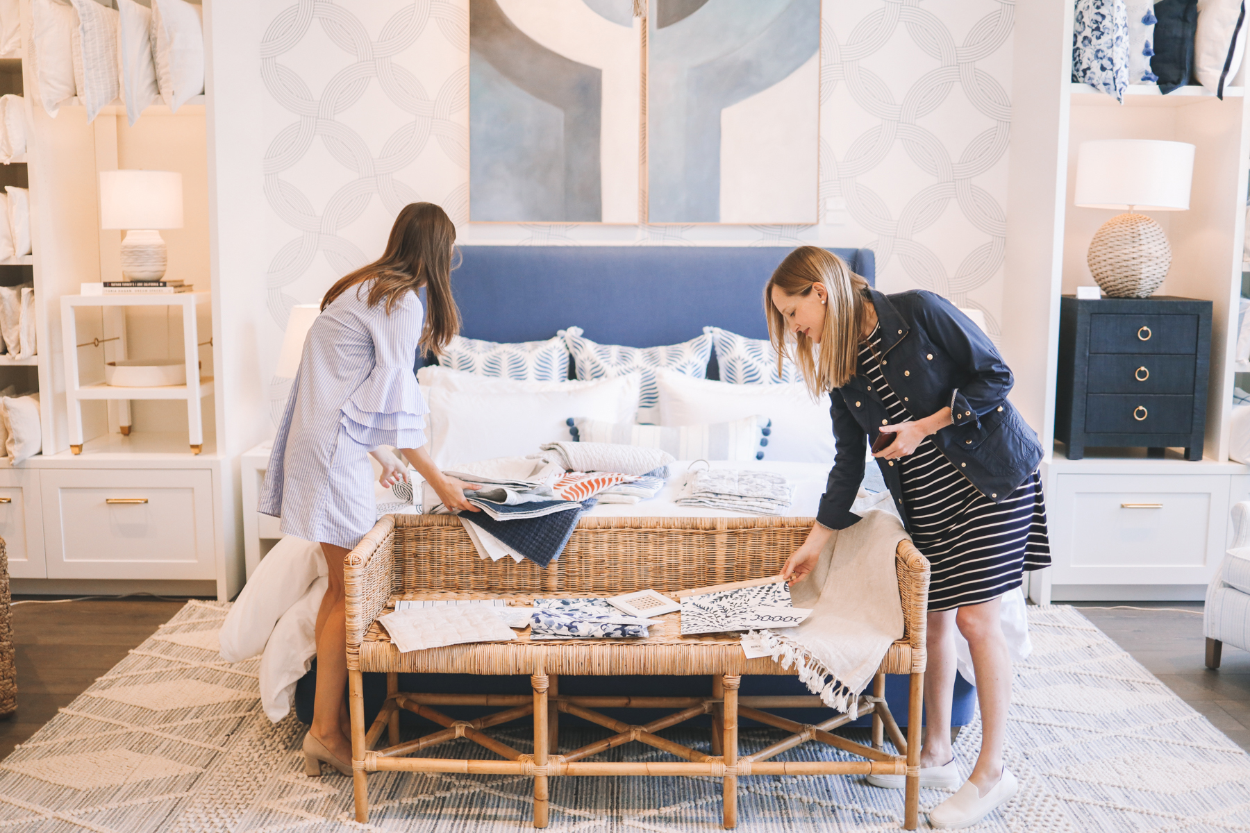 Designing Our Master Bedroom with Serena & Lily | Kelly in the City