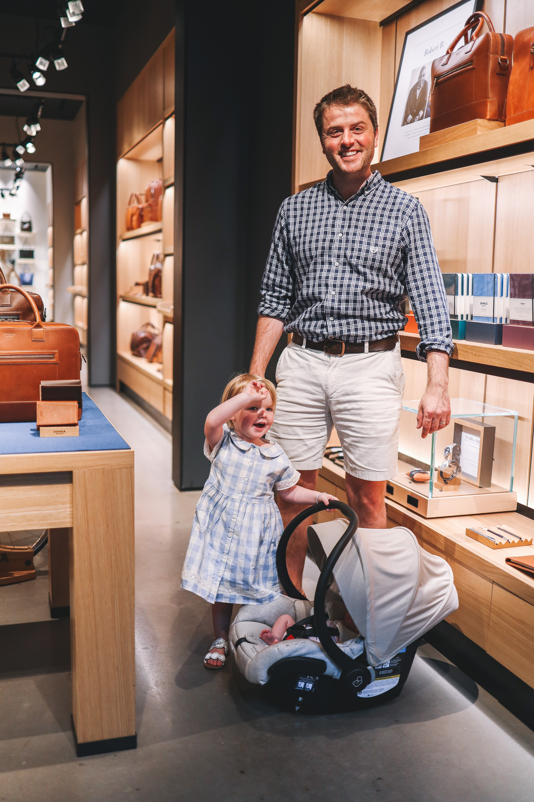 Father's Day at Shinola Store