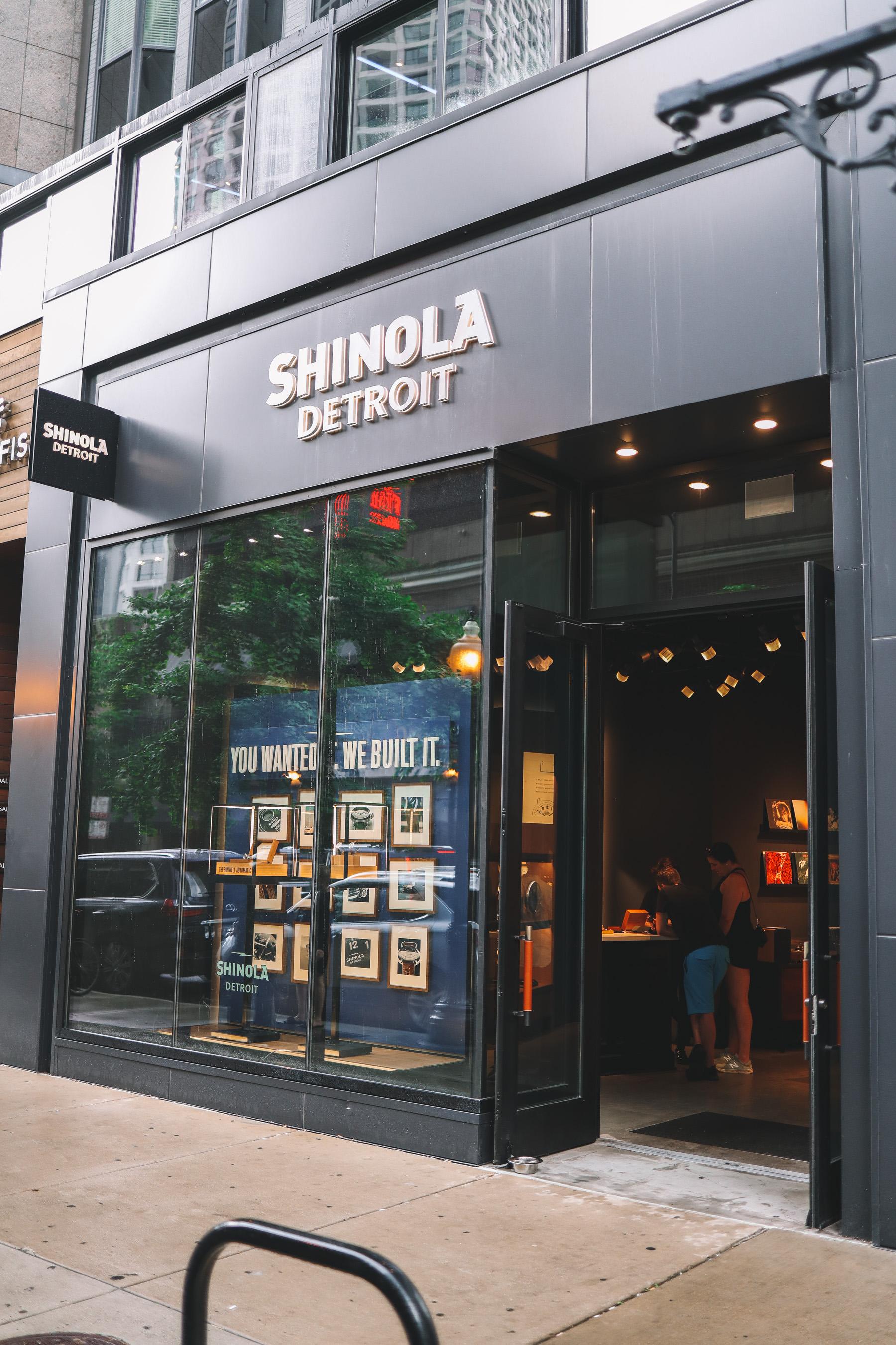 Shinola Detroit Store