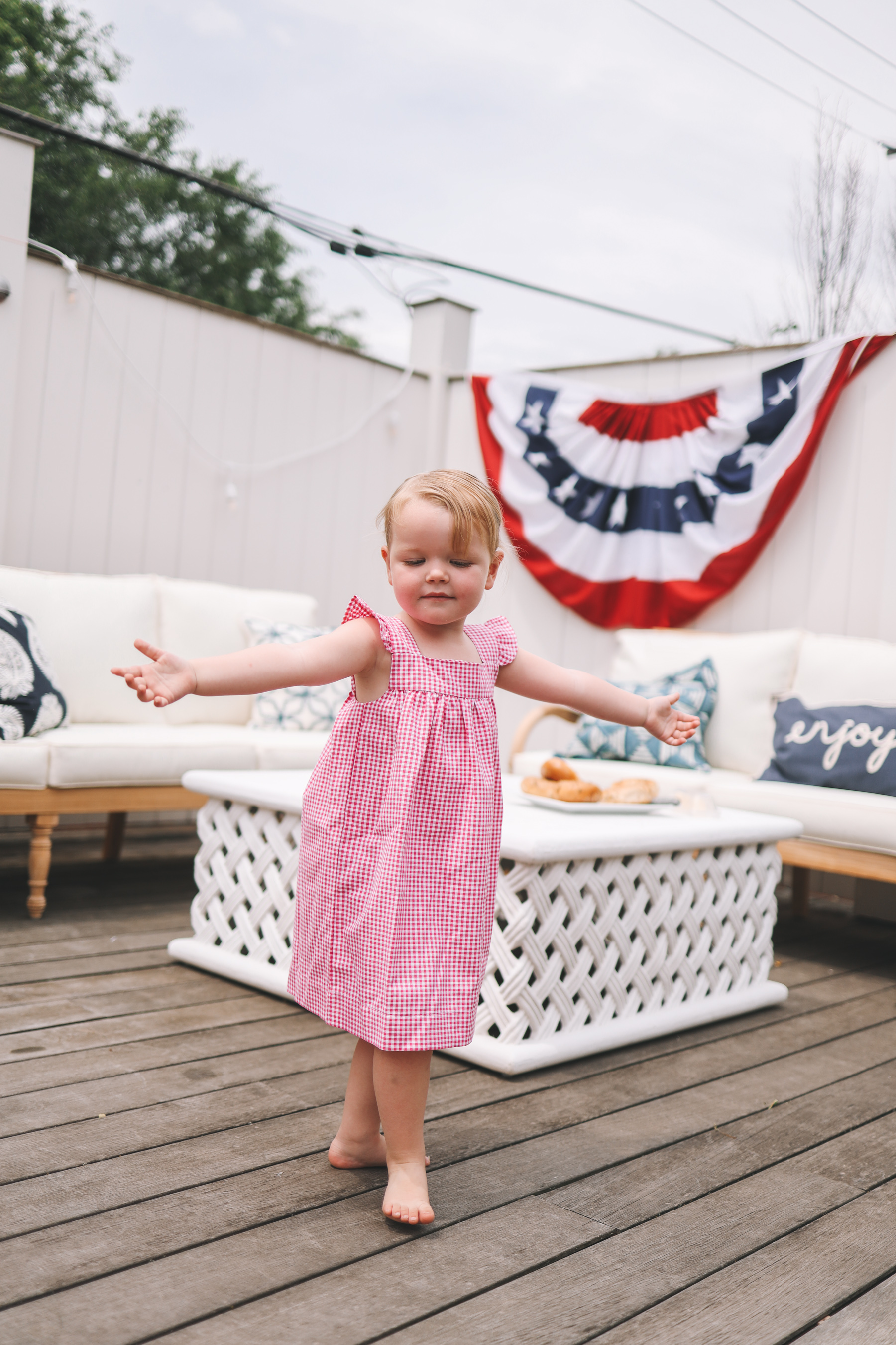 forth of july girl dress