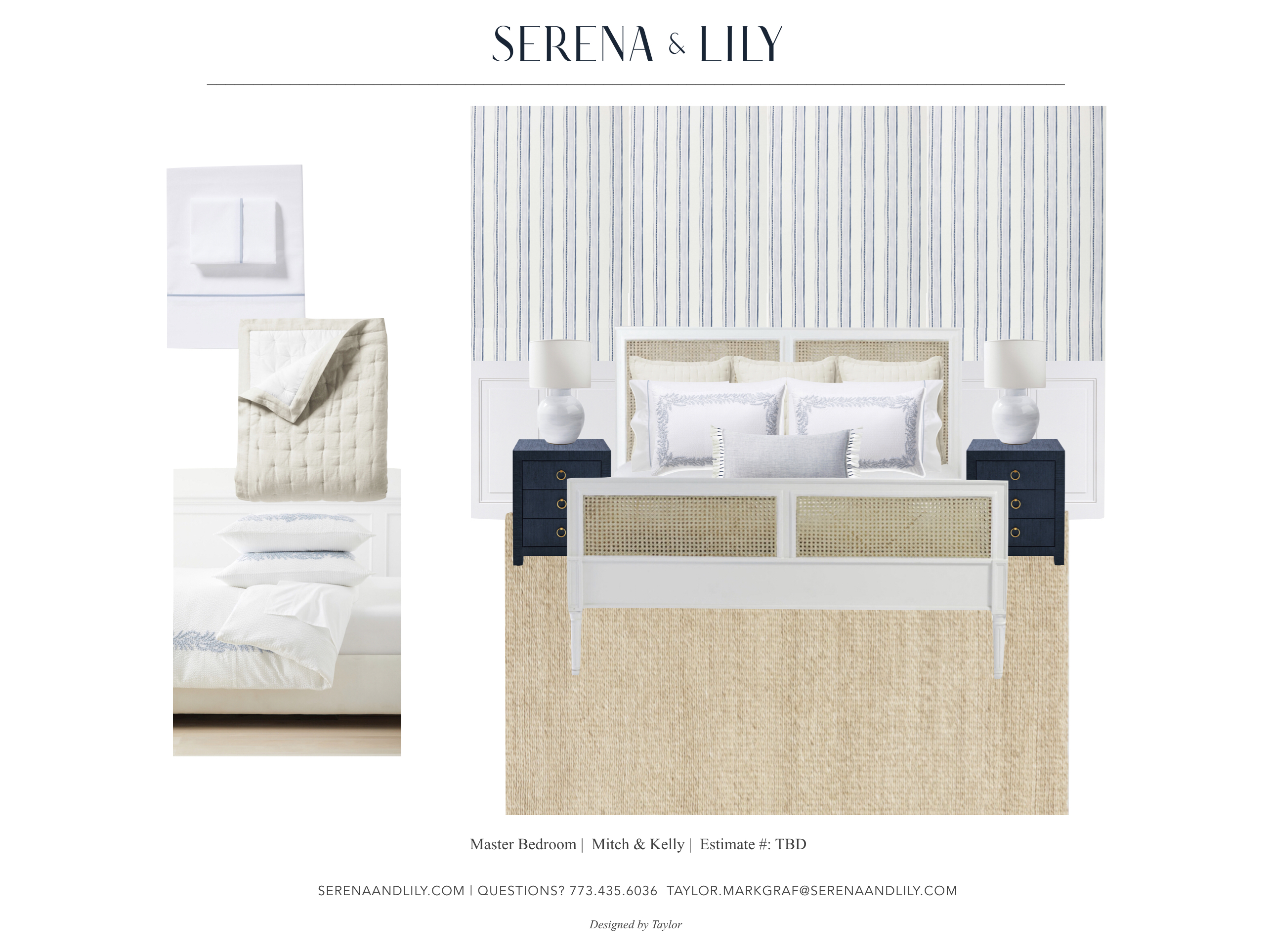 Bedding Ideas with Serena & Lily | Kelly in the City