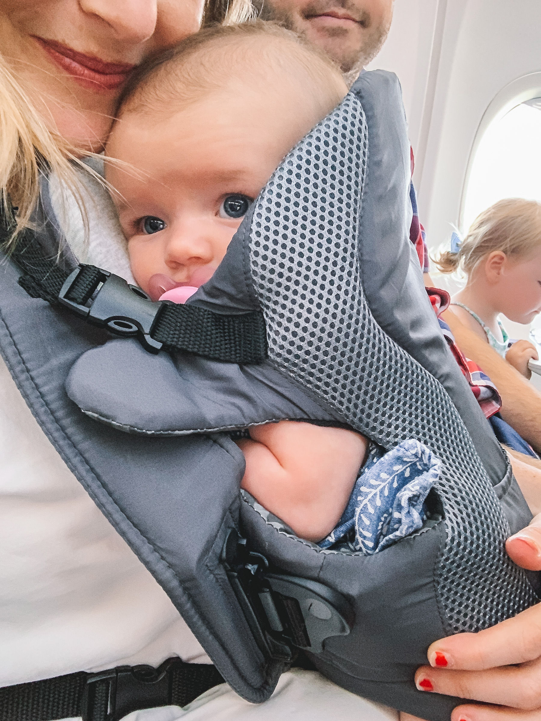 baby on planes