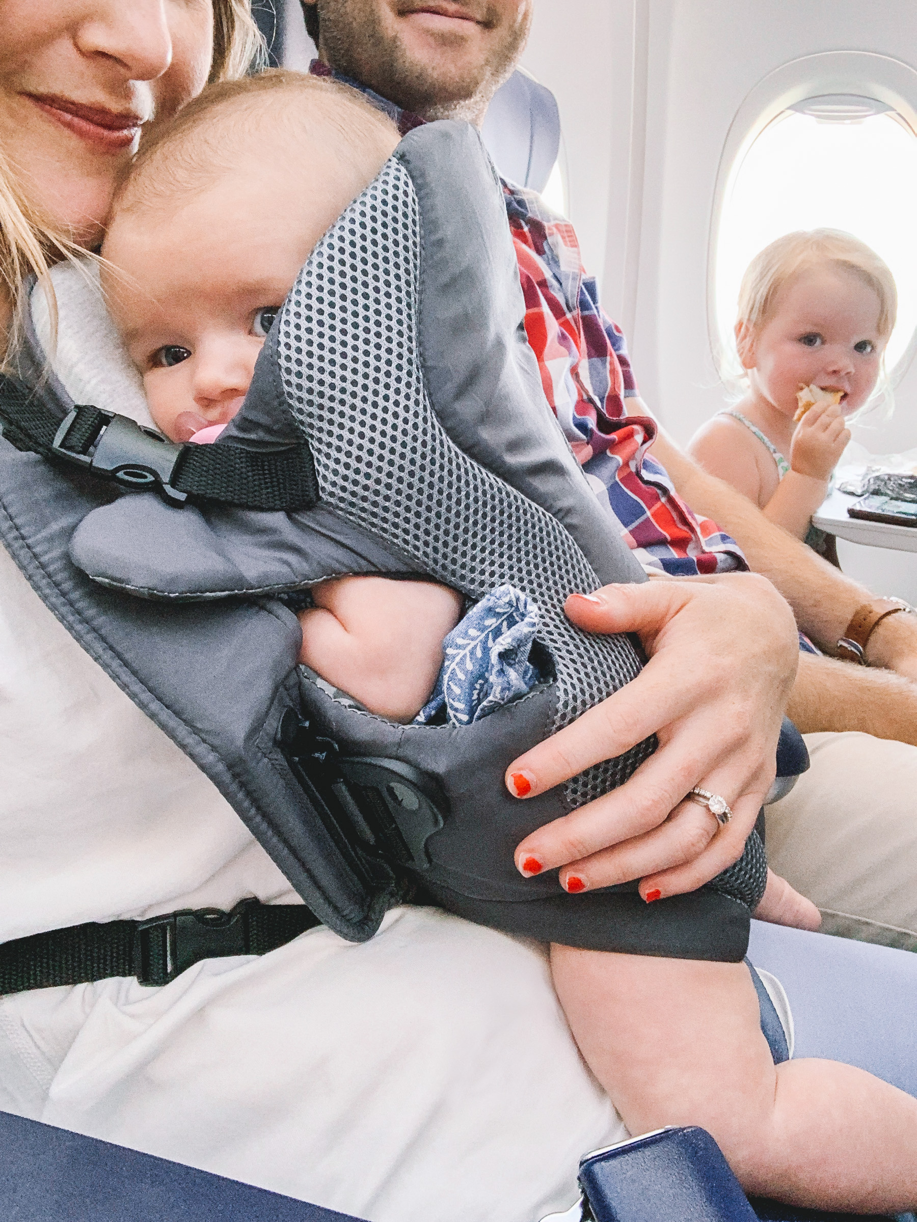 Our First Flight with Two Kids