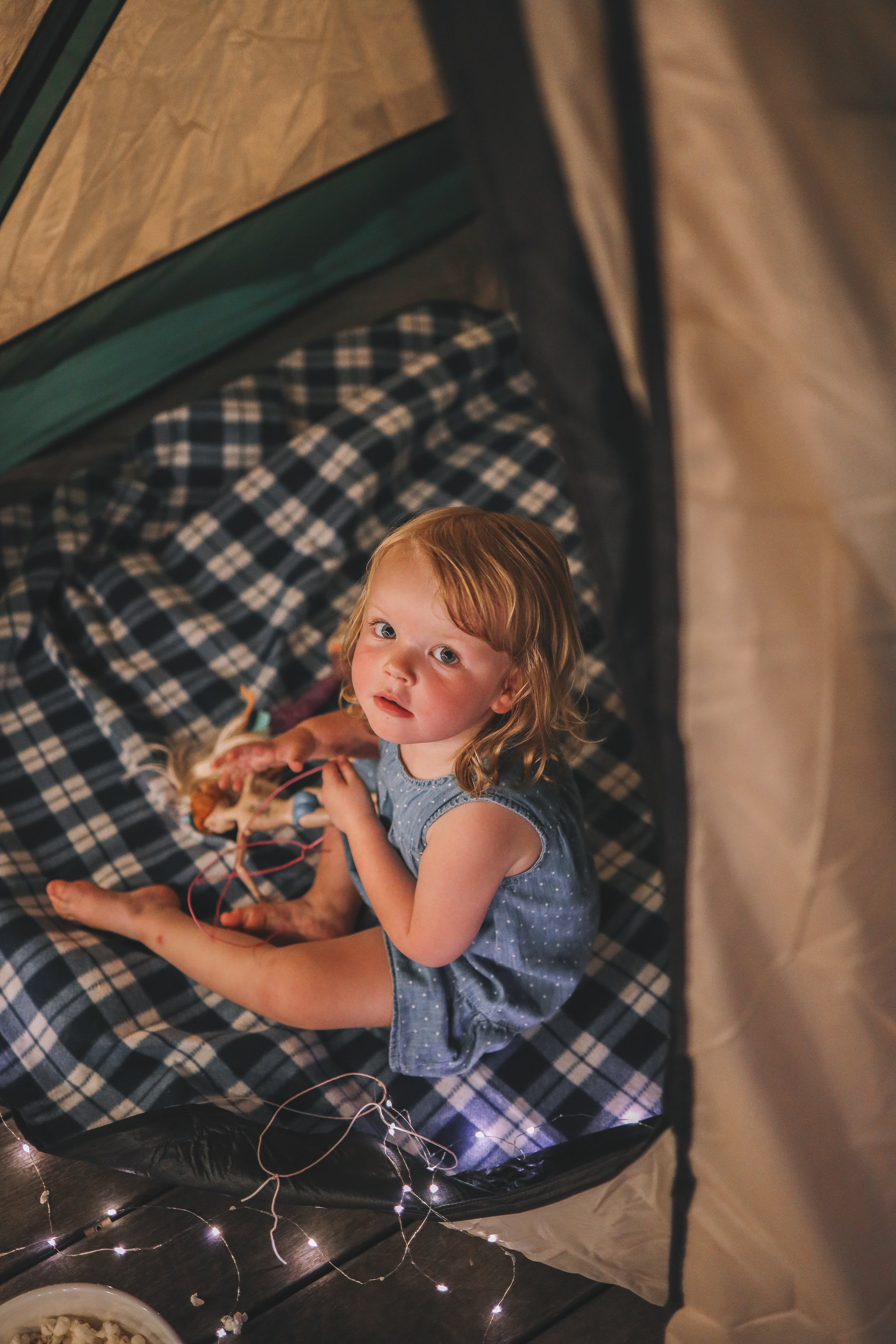 Backyard Camping with Walmart by Kelly in the City