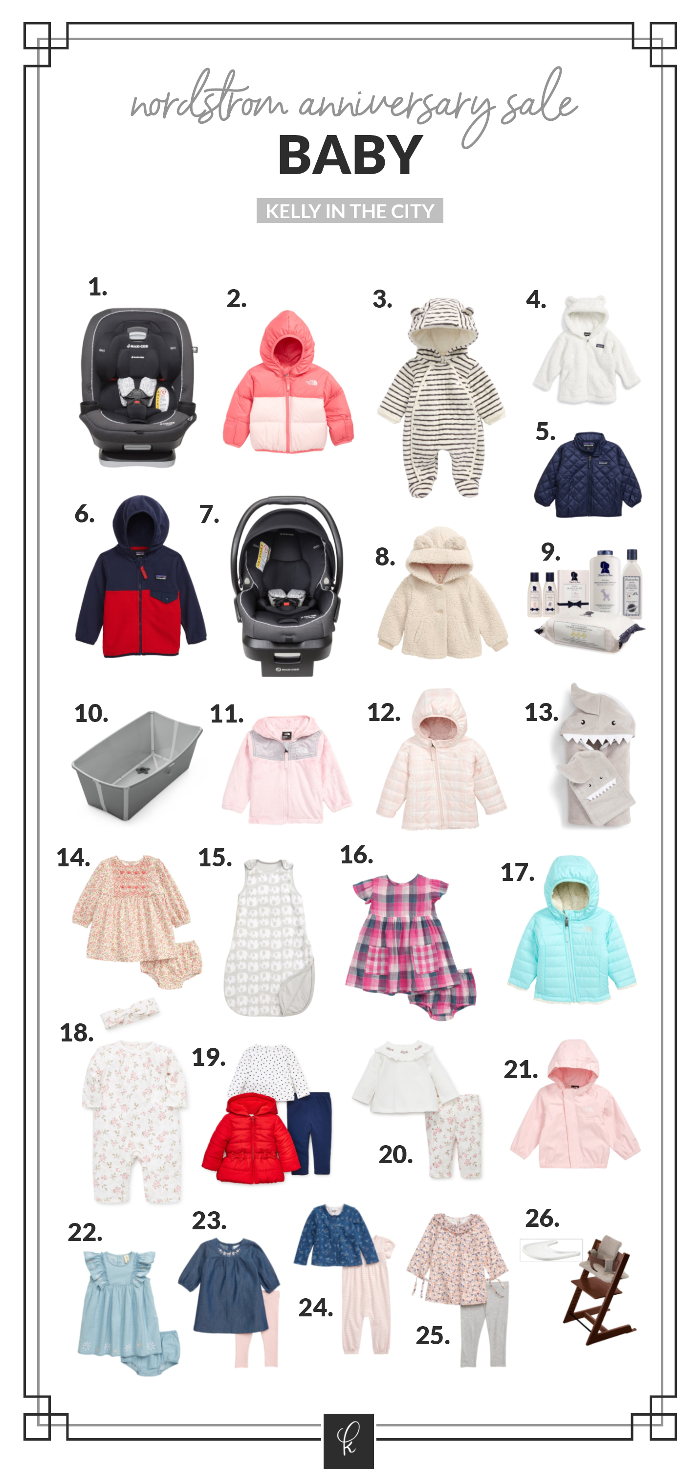 The baby items of Emma and Lucy's Nordstrom Anniversary Sale Picks