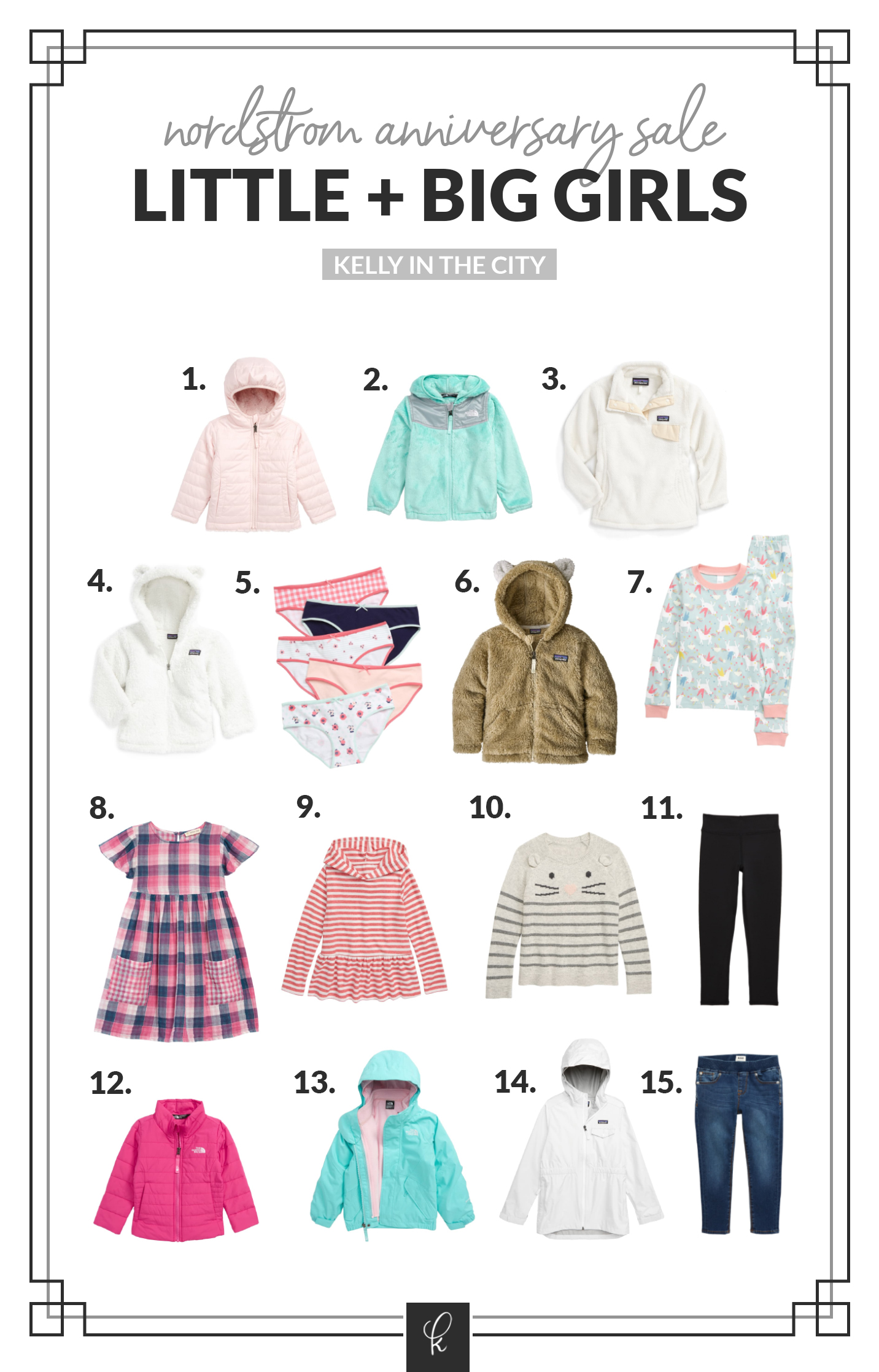 Emma and Lucy's Nordstrom Anniversary Sale Picks of girl clothes