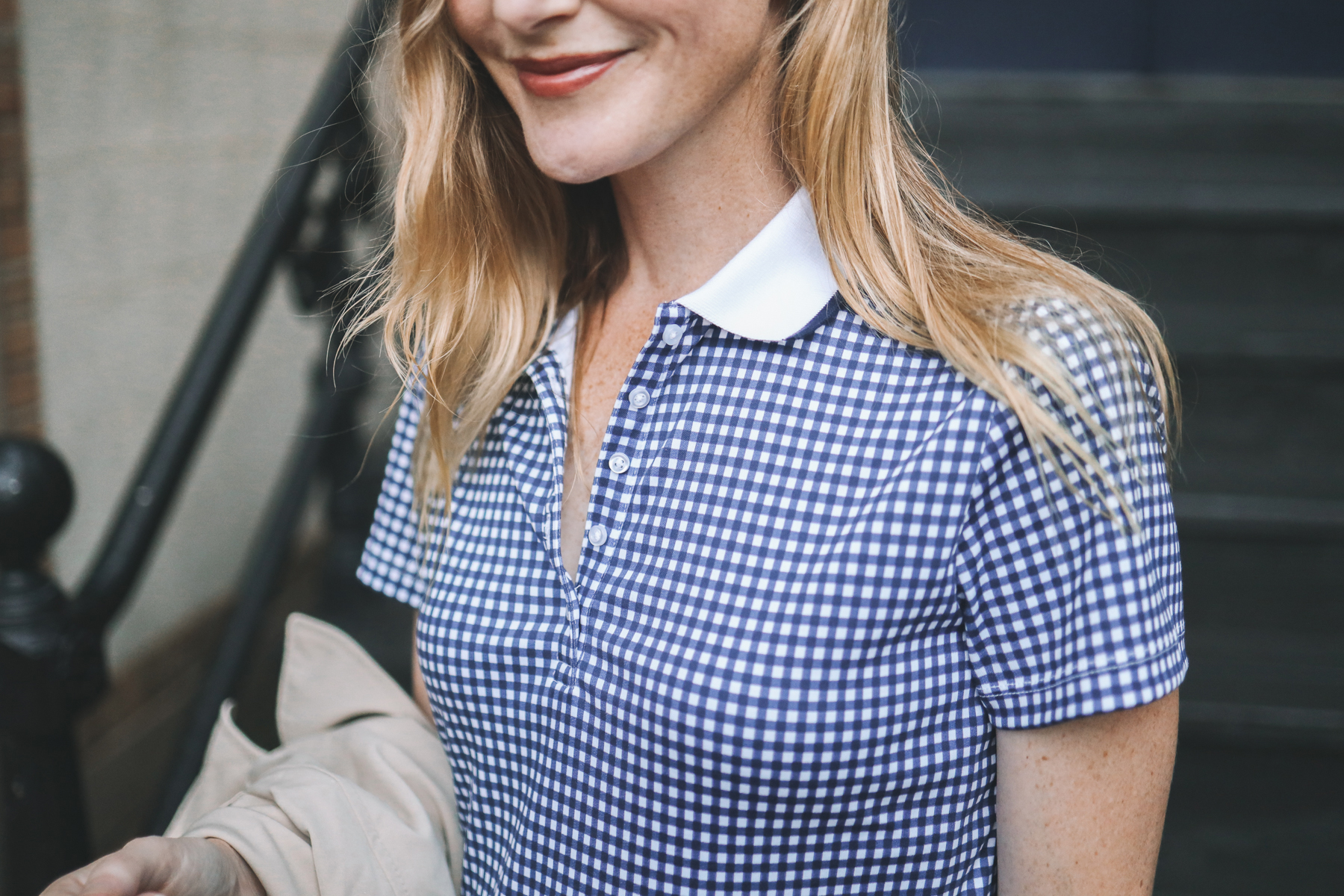 gingham polo featured