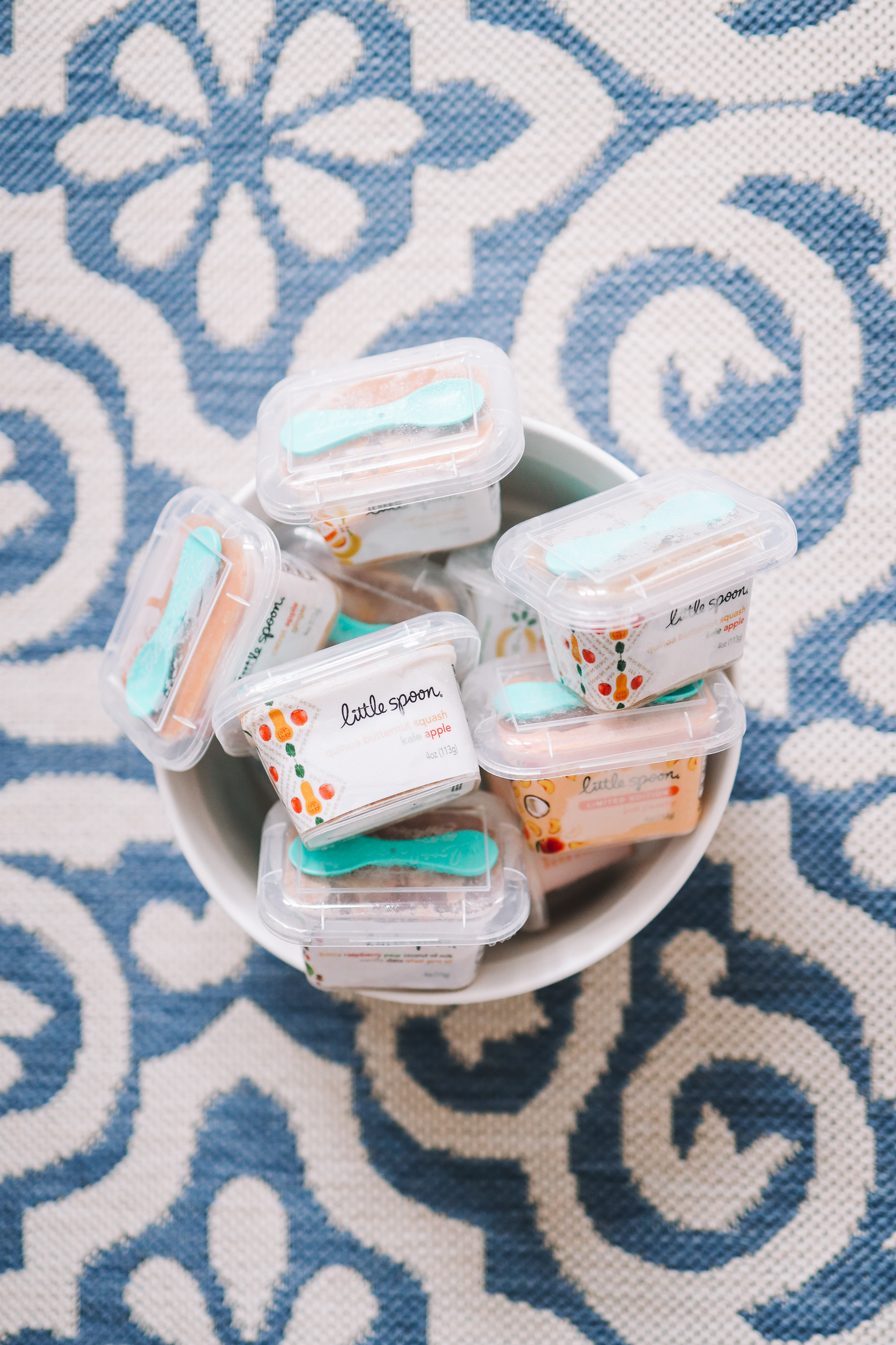 baby food for giveaway with laundress