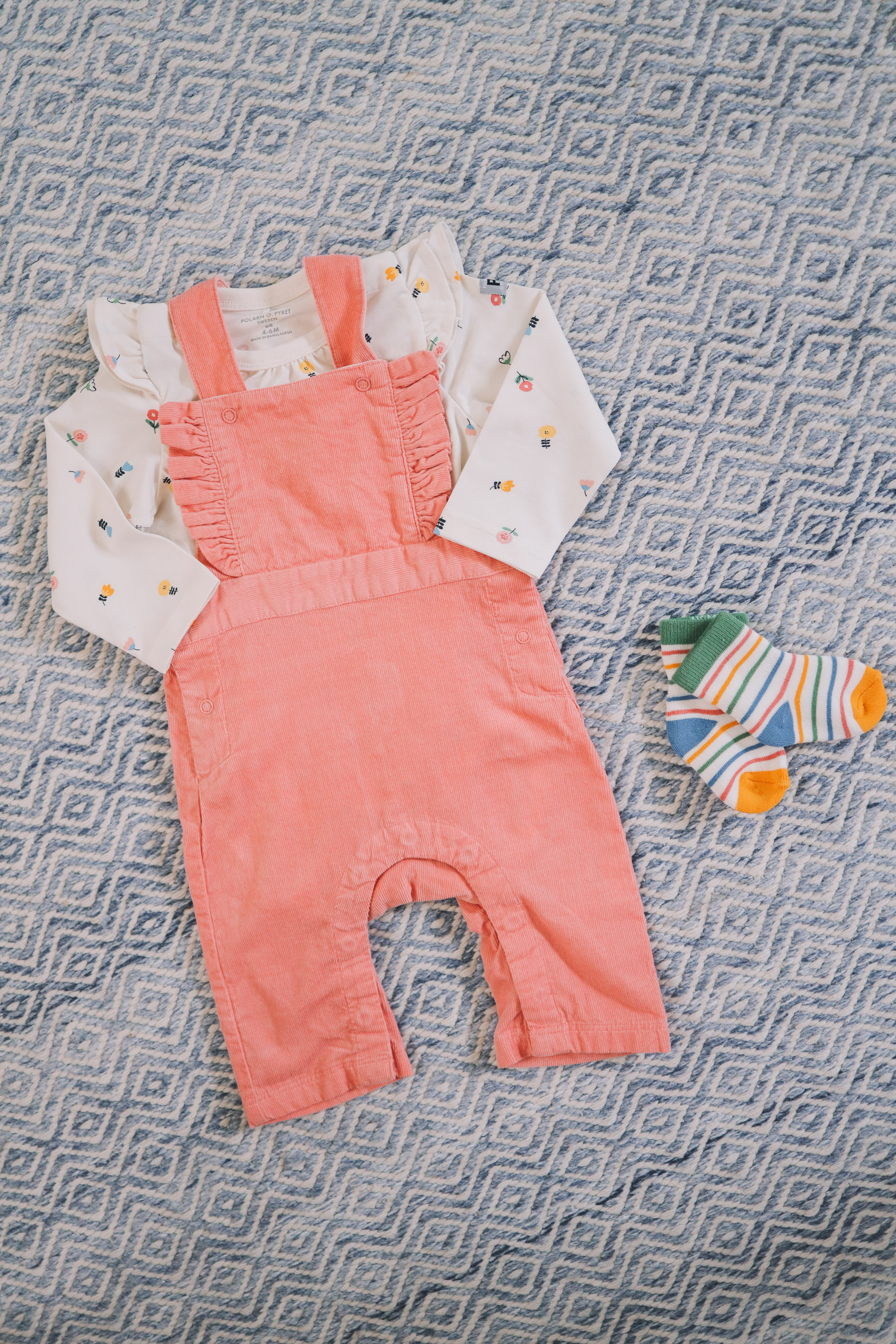 cute overalls for giveaway with laundress