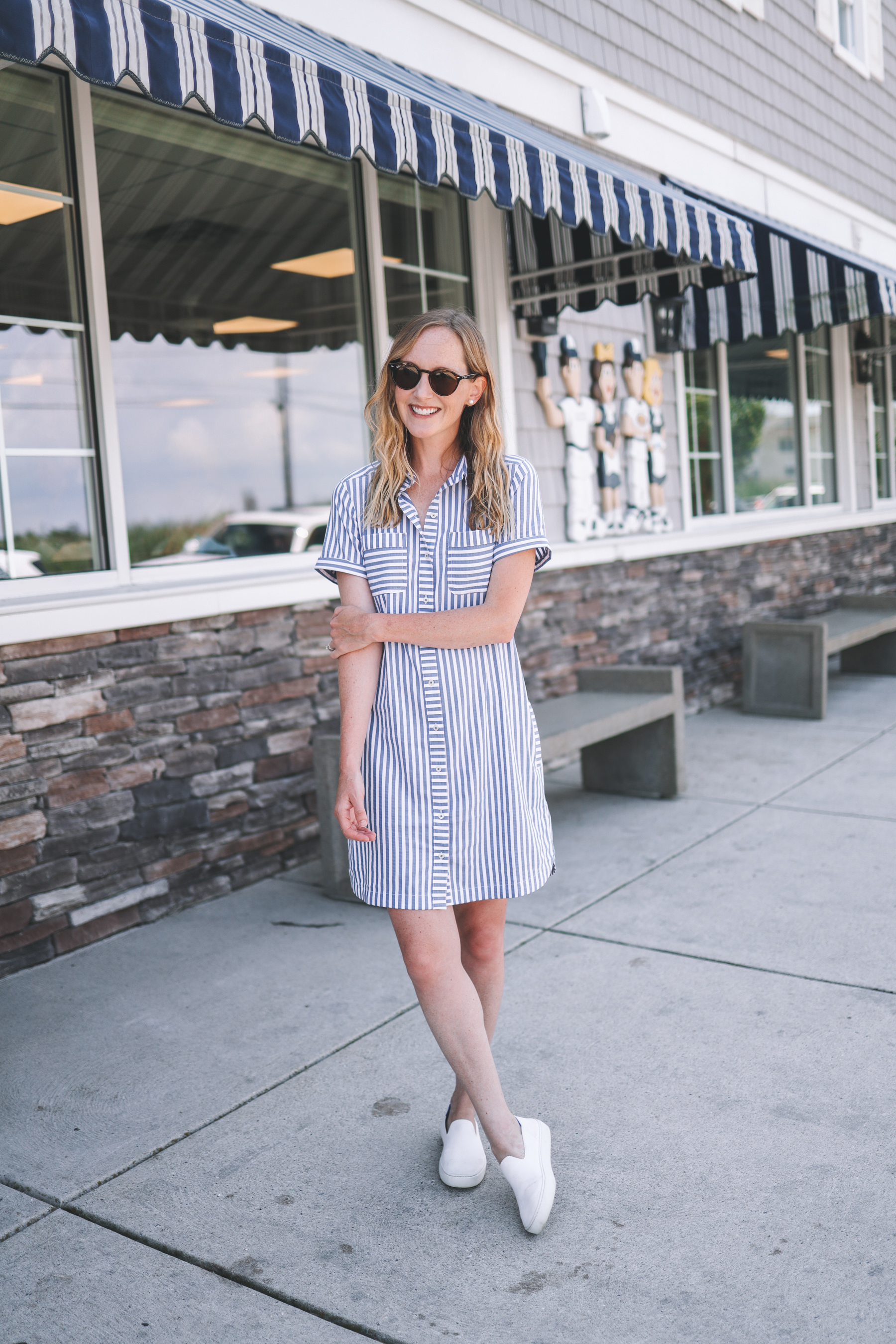 kicks and a dress, the best casual street look