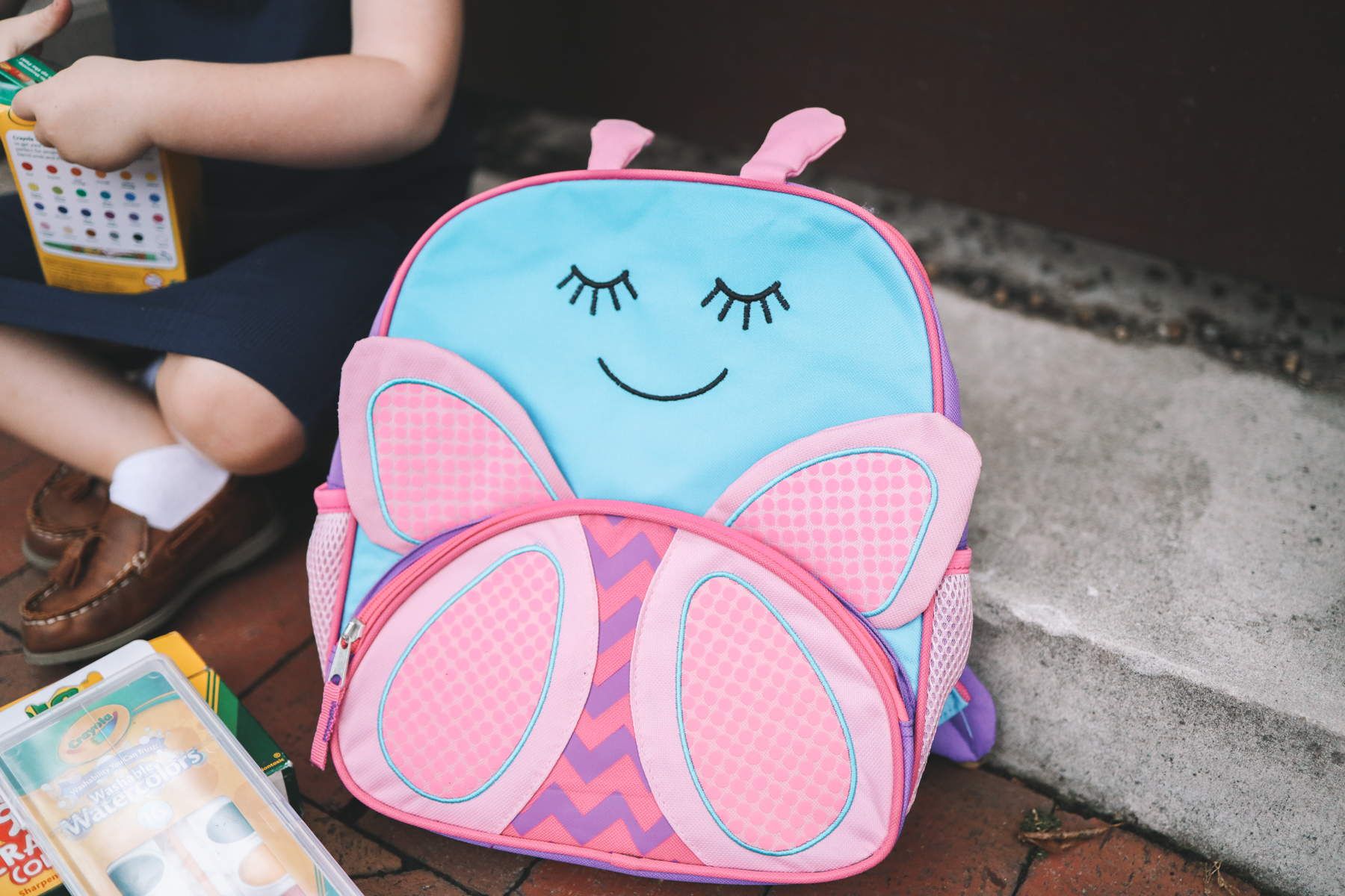Toddler Butterfly Backpack