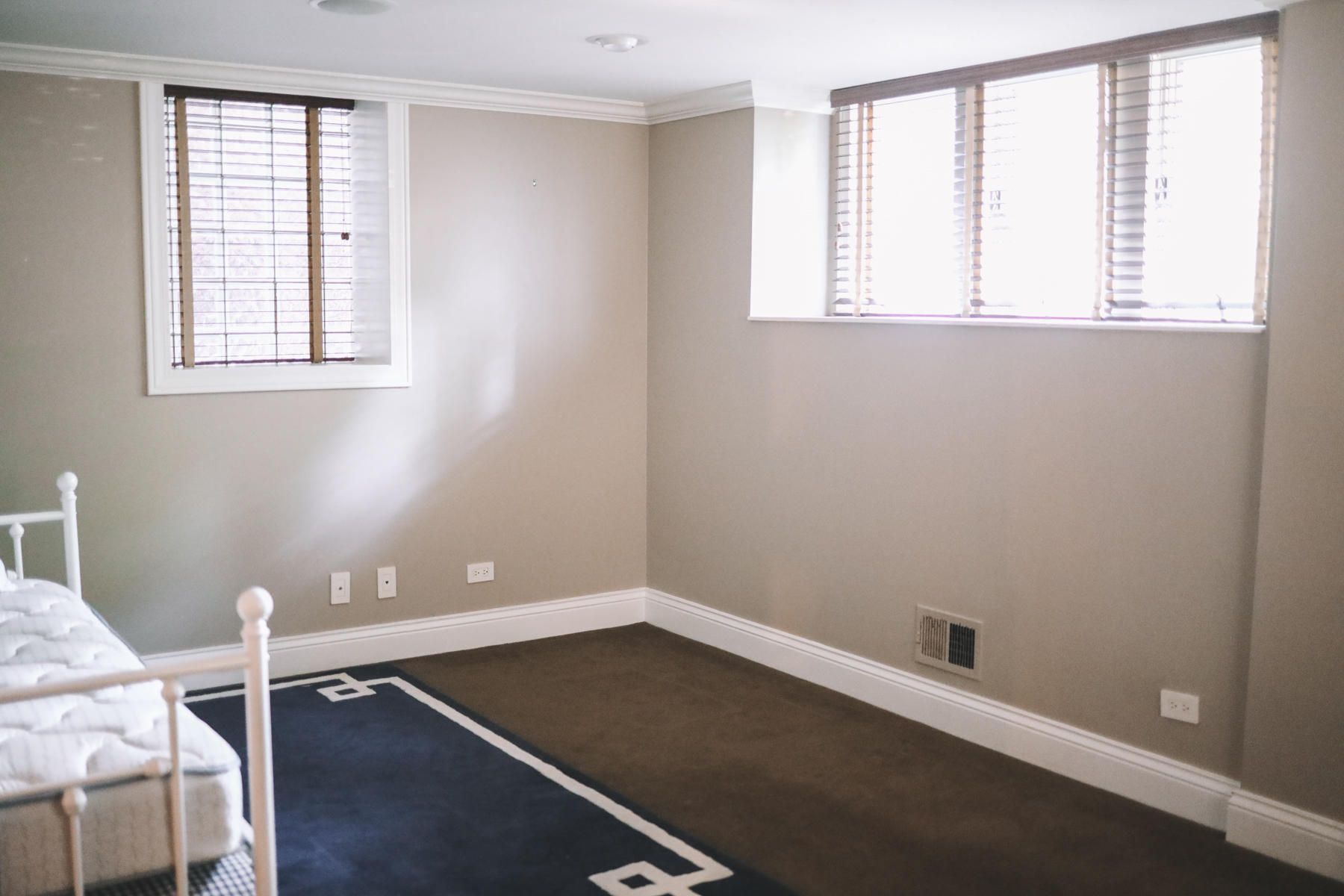 Mitch's navy office before