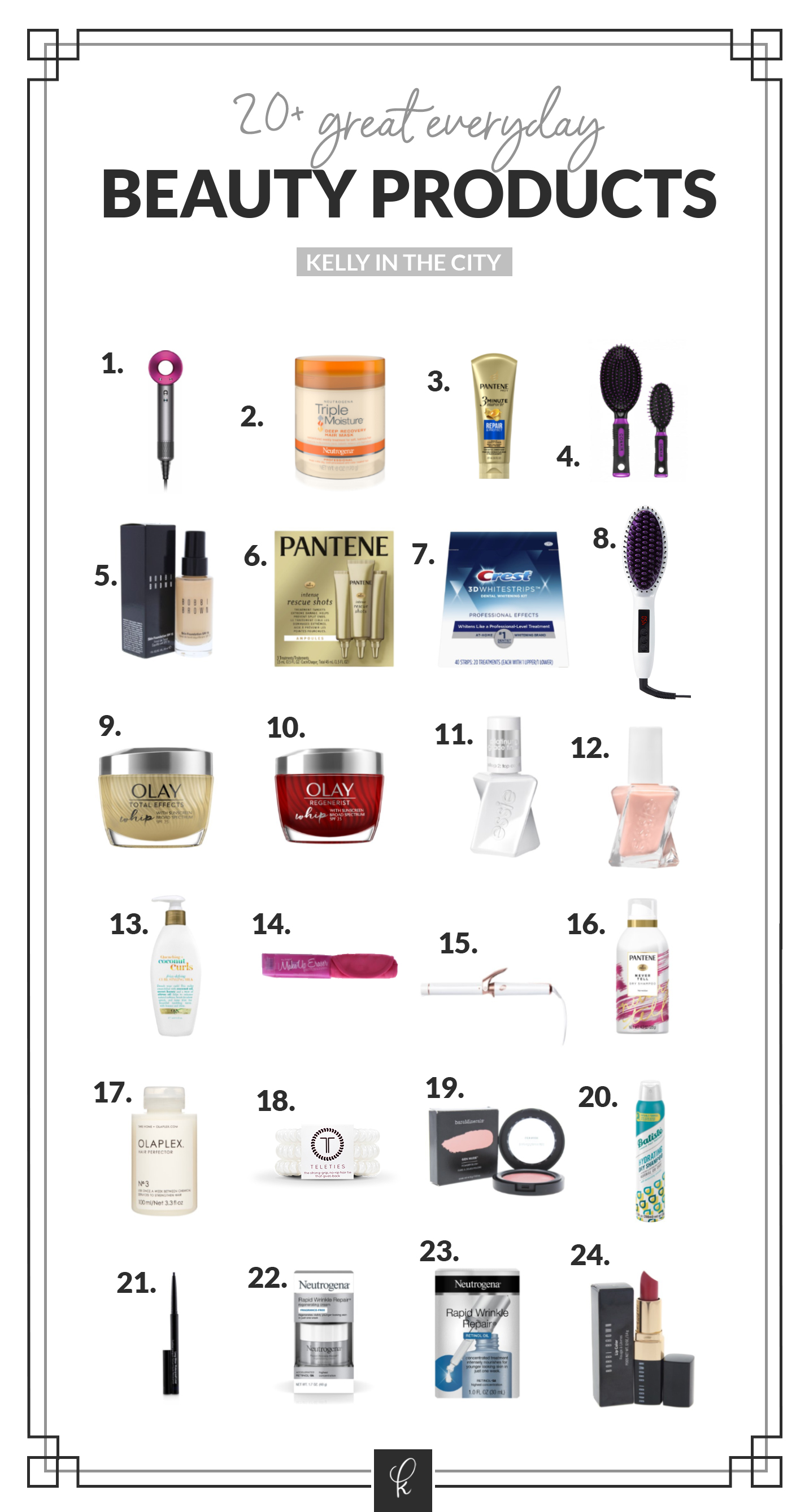 20 Everyday Beauty Products