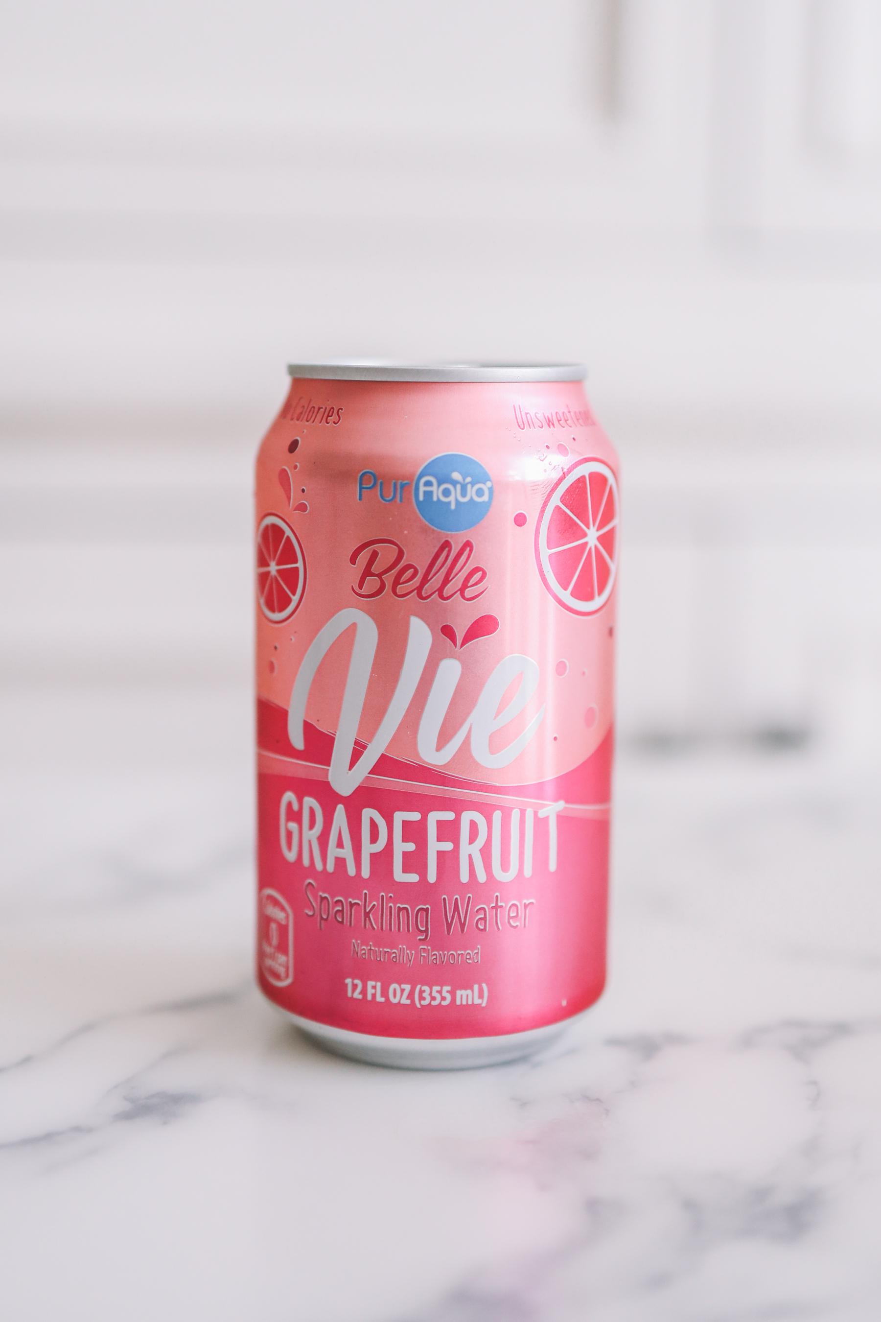 10. PurAqua Grapefruit Belle Vie Sparkling Flavored Water